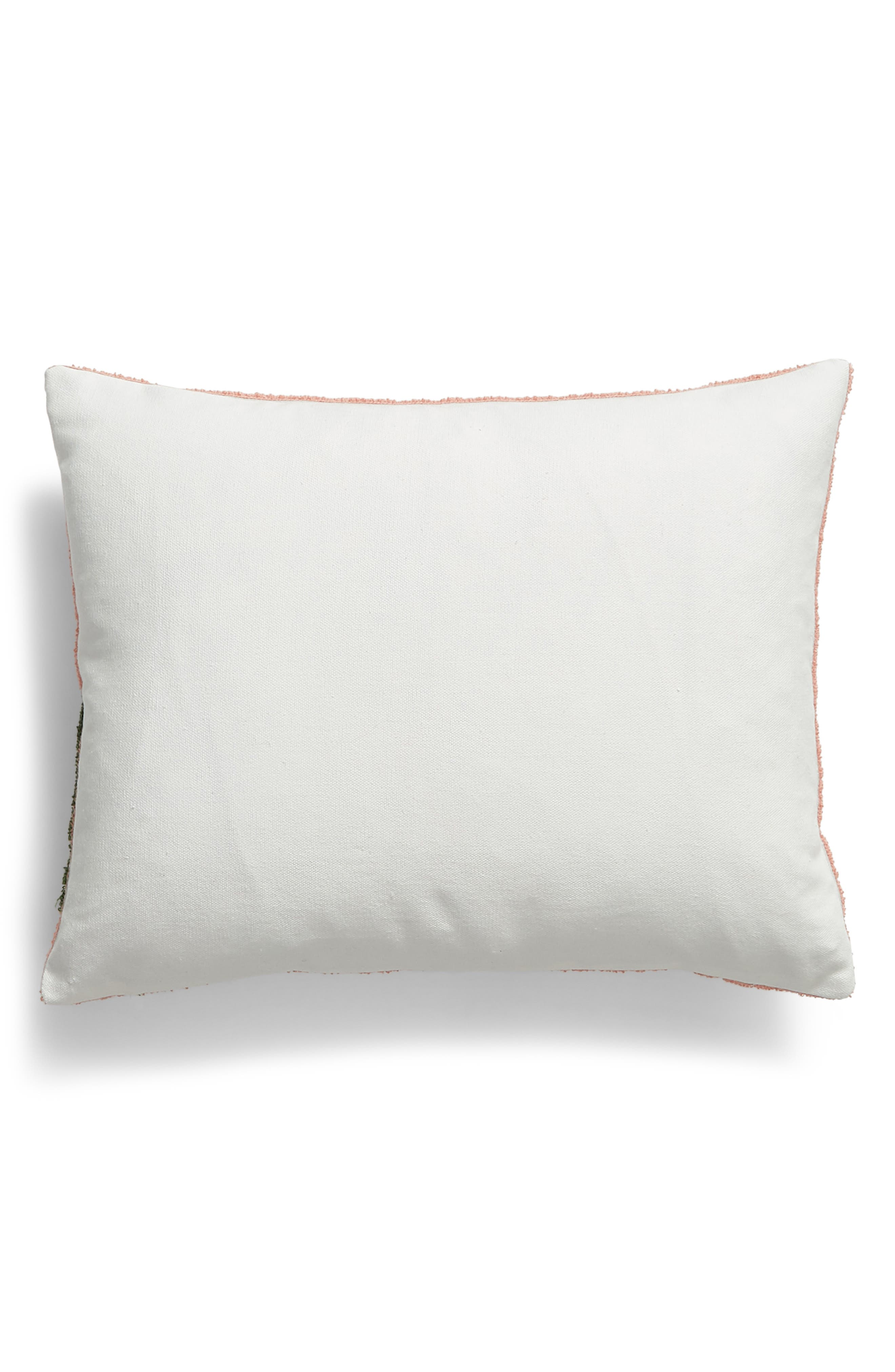 LEVTEX, Hilo Tropic Like It's Hot Accent Pillow, Alternate thumbnail 2, color, PINK