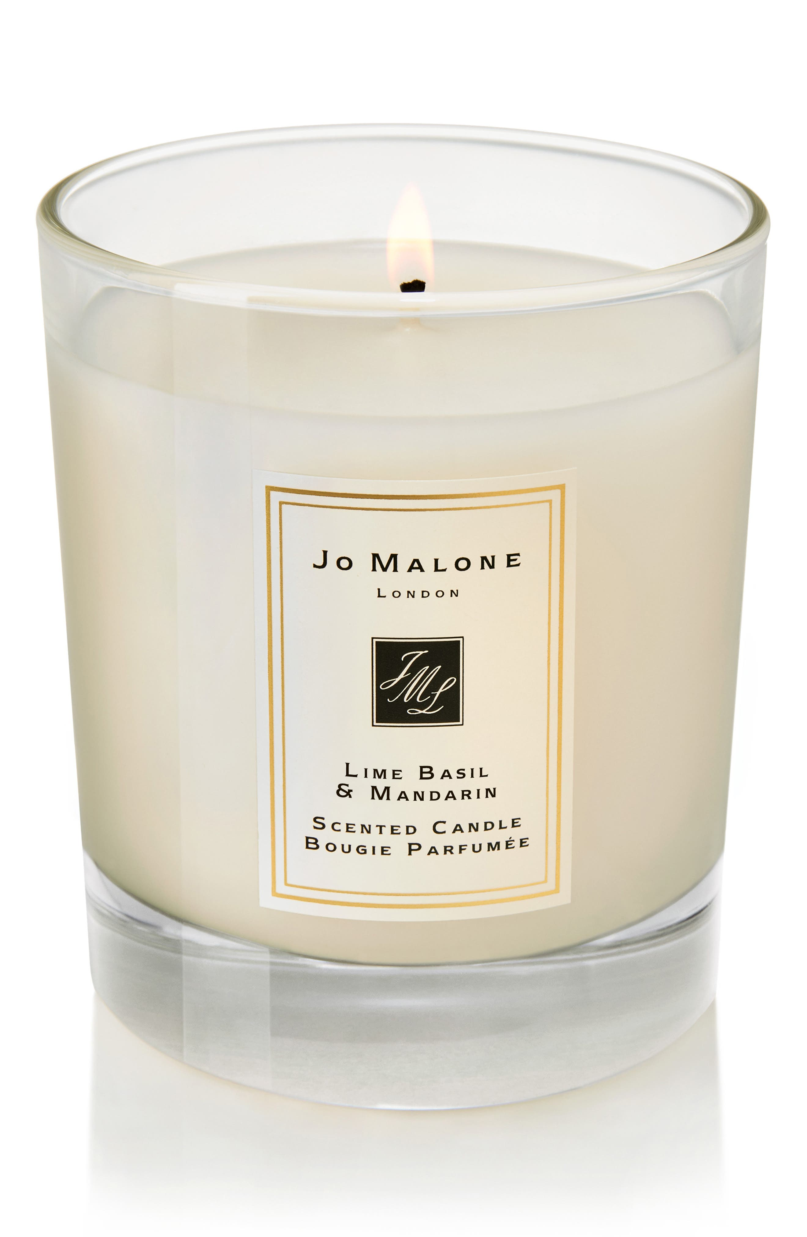 JO MALONE LONDON<SUP>™</SUP>, Jo Malone<sup>™</sup> Lime Basil & Mandarin Scented Home Candle, Alternate thumbnail 3, color, NO COLOR