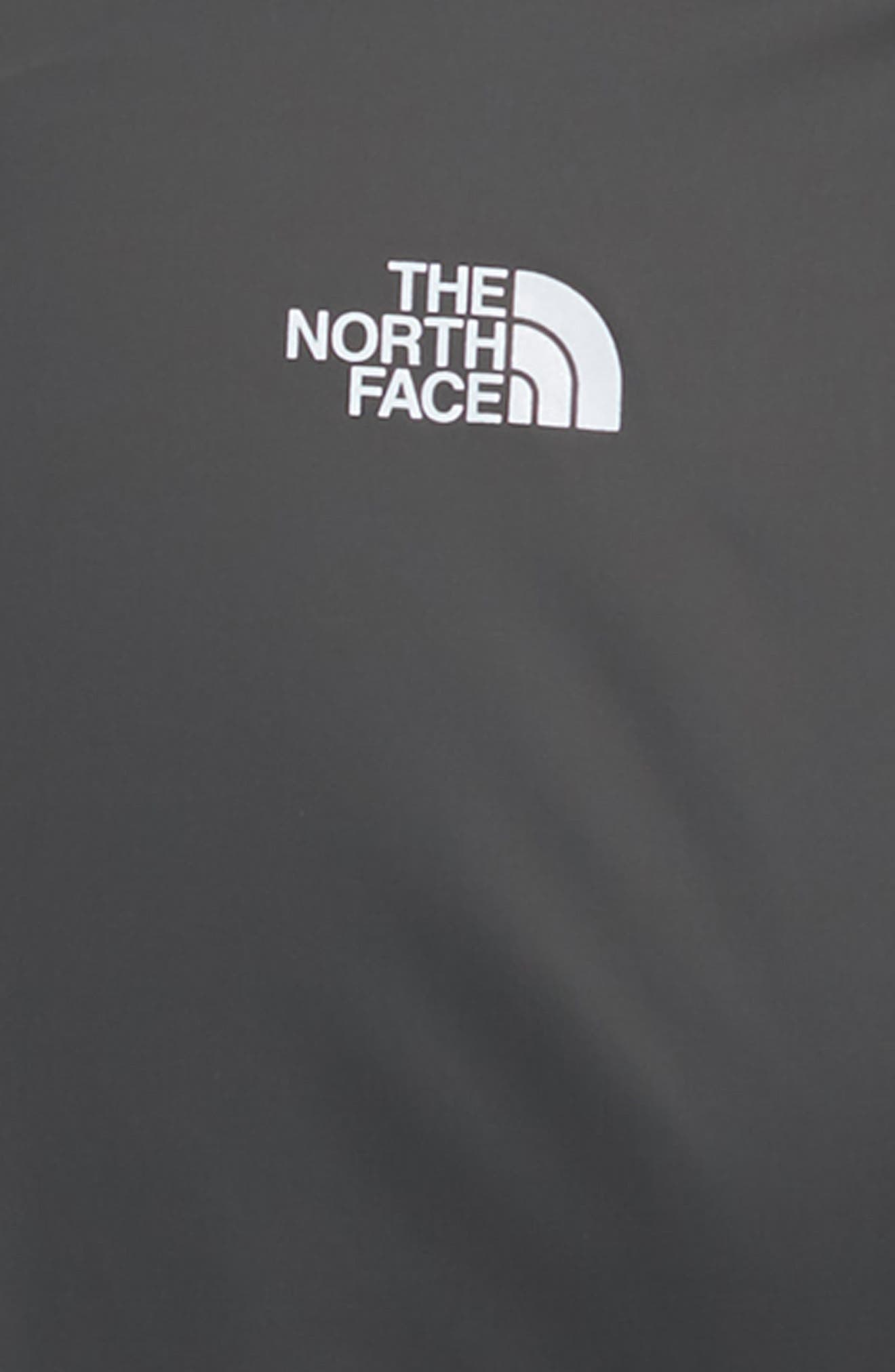 THE NORTH FACE, Warm Storm Hooded Waterproof Jacket, Alternate thumbnail 2, color, GRAPHITE GREY