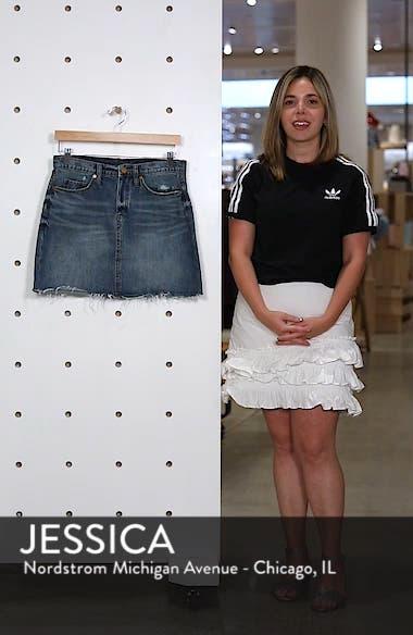 Way Back When Cutoff Denim Skirt, sales video thumbnail