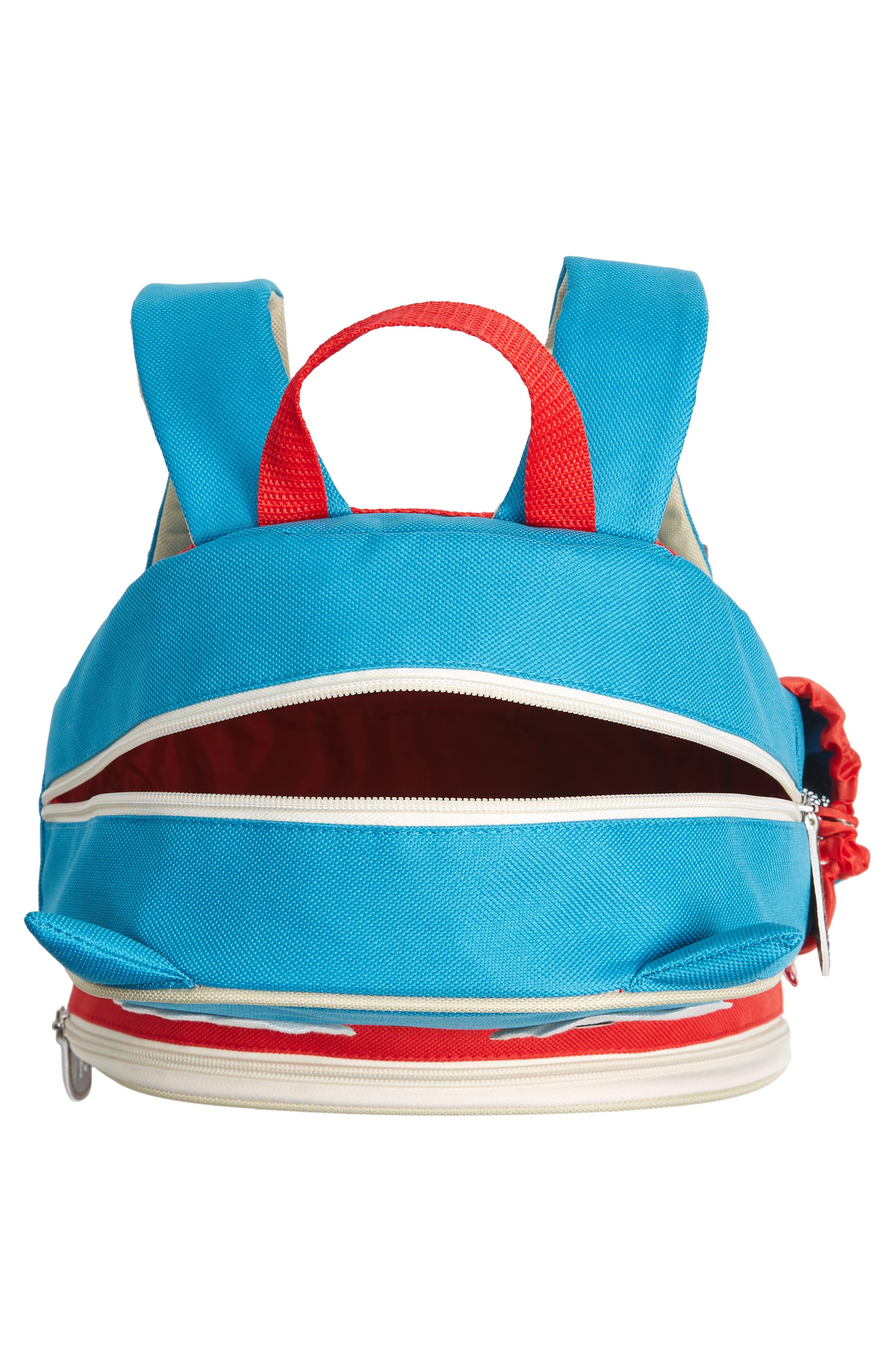 SKIP HOP, Owl Zoo Pack Backpack, Alternate thumbnail 3, color, BLUE MULTI
