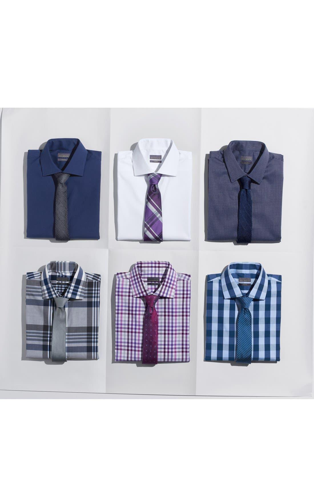 CALIBRATE, Trim Fit Dress Shirt, Main thumbnail 1, color, 420