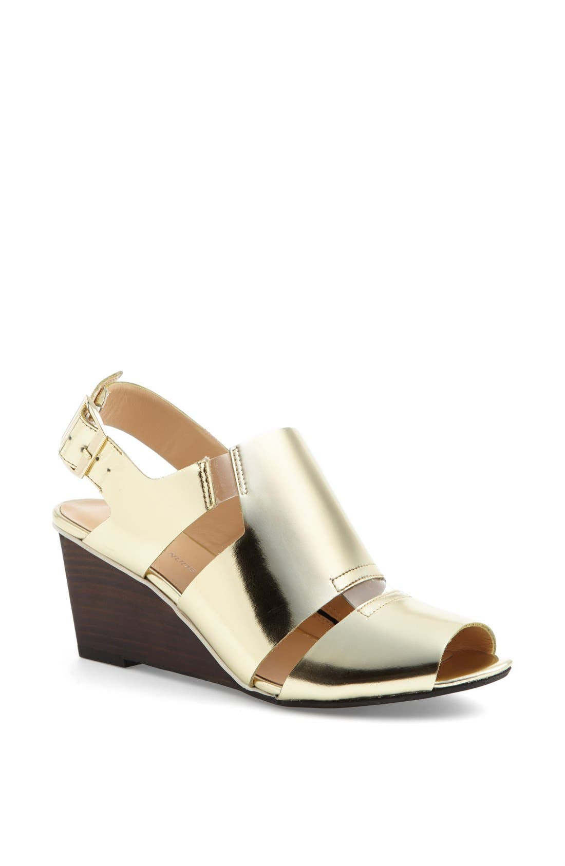 UNITED NUDE COLLECTION, 'Kim' Sandal, Main thumbnail 1, color, 710