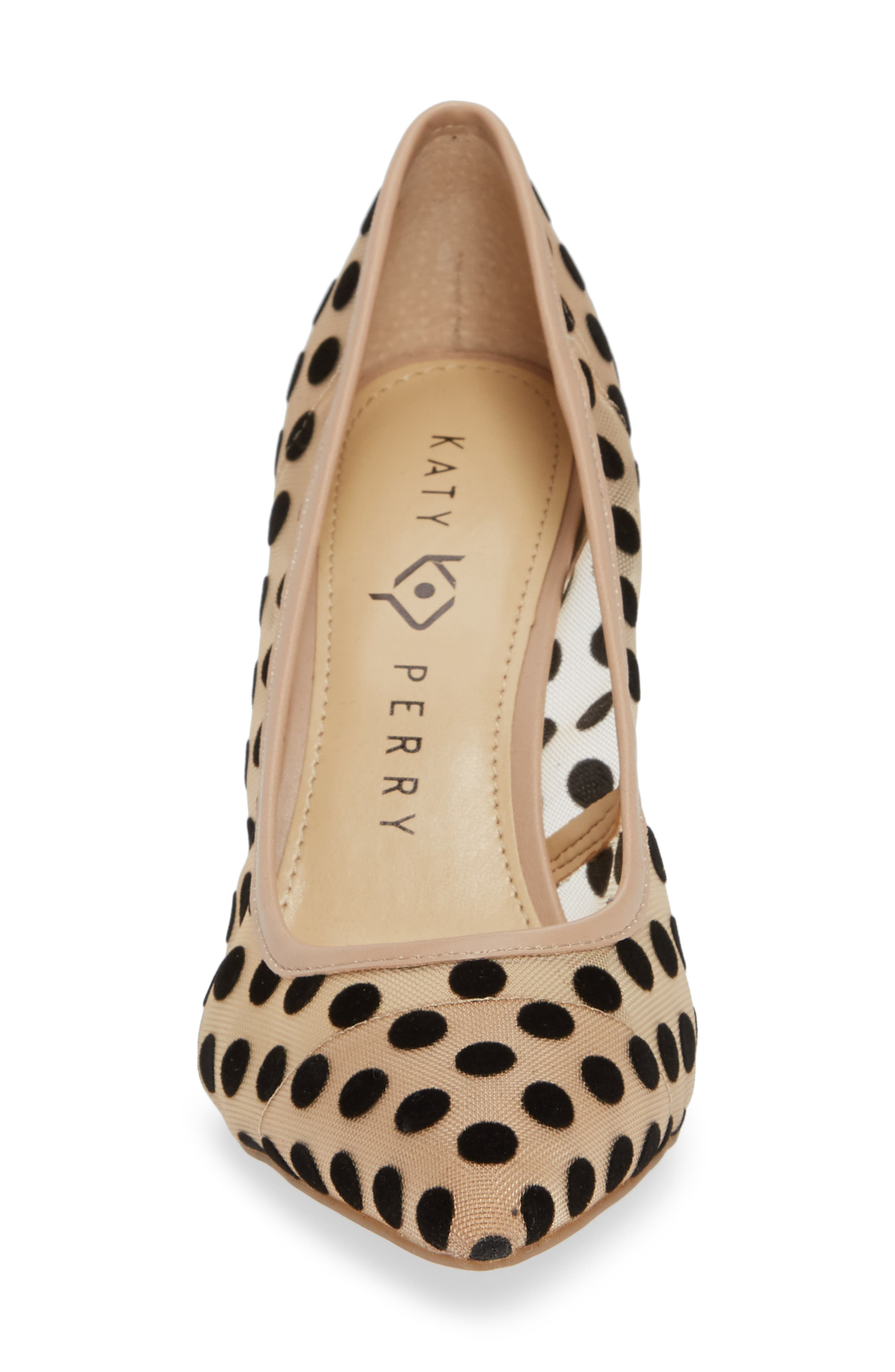 KATY PERRY, Pointy Toe Pump, Alternate thumbnail 4, color, 270