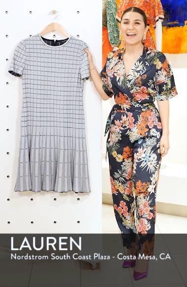 Monochrome Ottoman Knit Dress, sales video thumbnail
