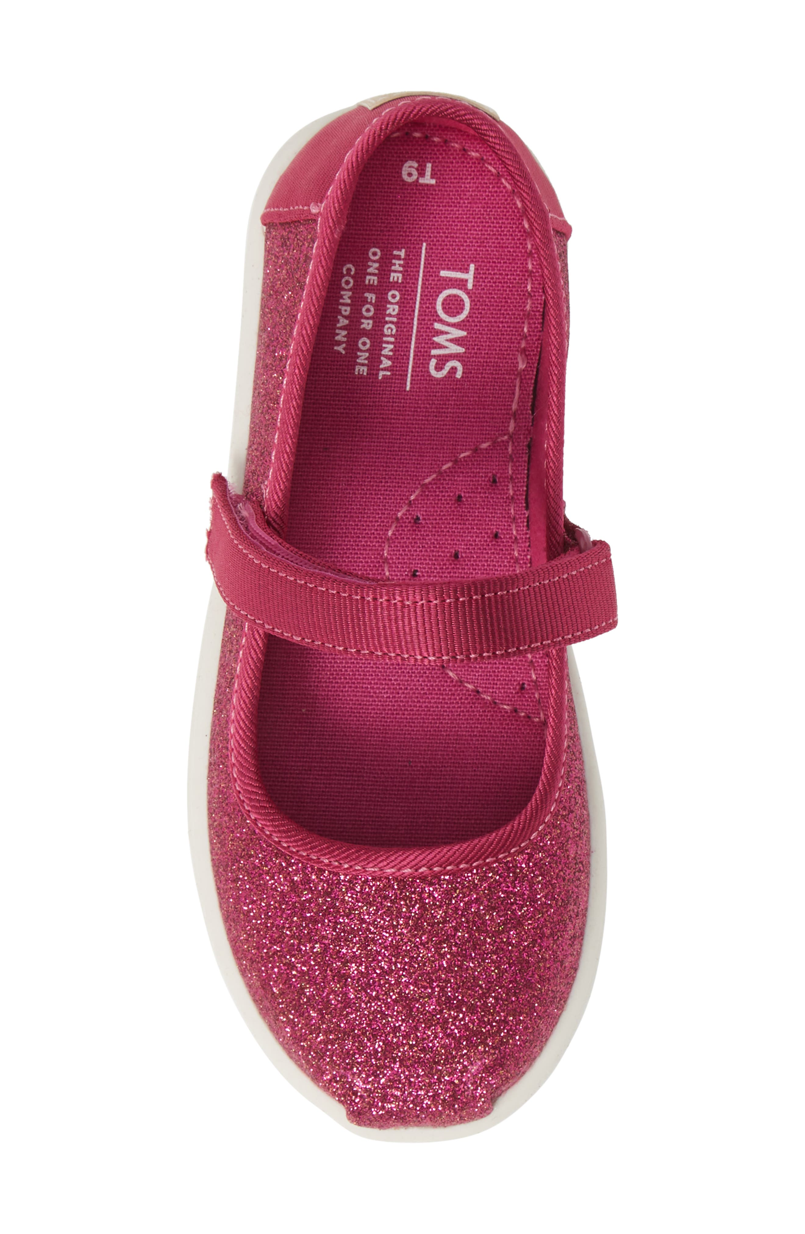 TOMS, Mary Jane Sneaker, Alternate thumbnail 5, color, PINK