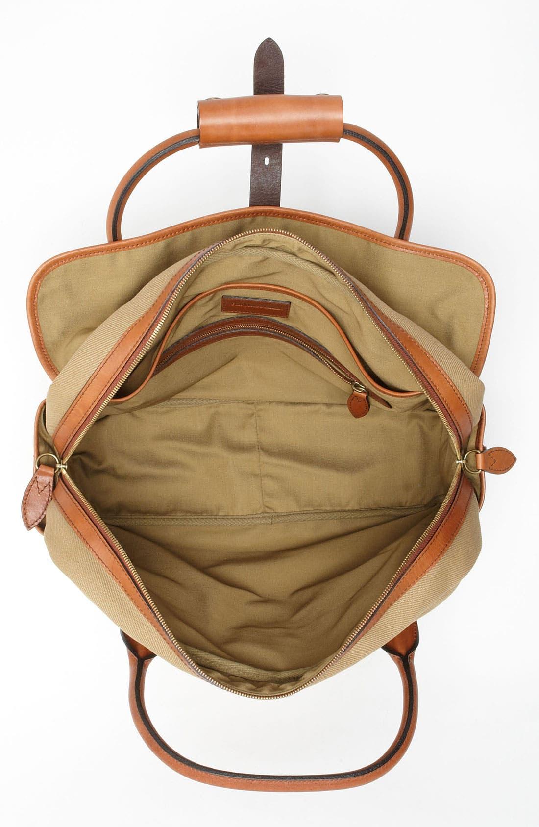 POLO RALPH LAUREN, Canvas Commuter Bag, Alternate thumbnail 2, color, 270