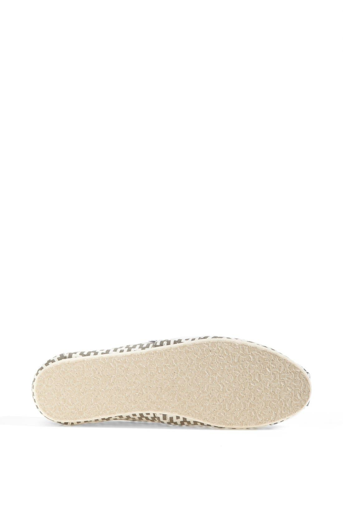 TOMS, 'Classic - Jonathan Adler' Slip-On, Alternate thumbnail 2, color, 020