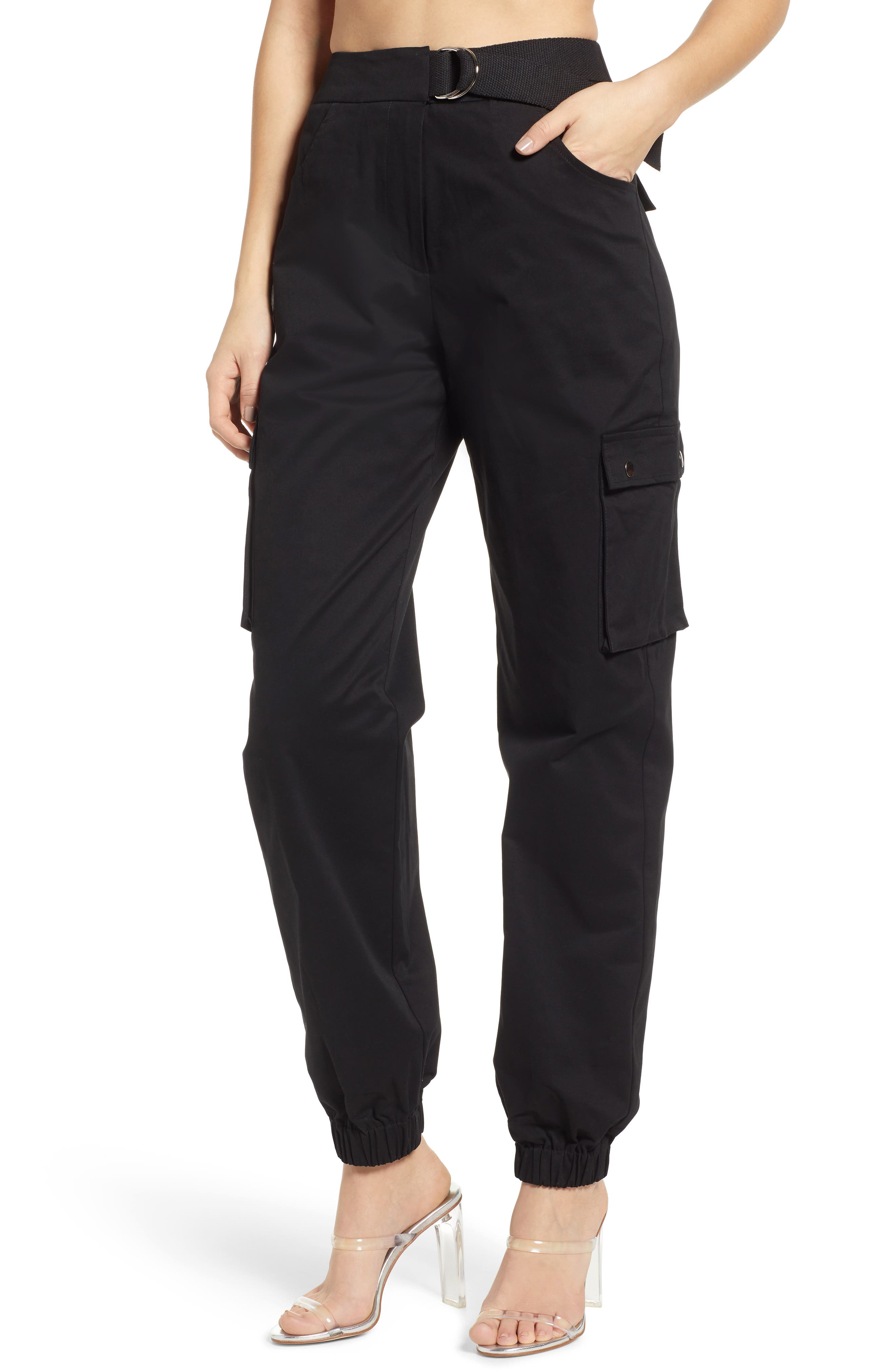 Tiger Mist Aliyah Cargo Pants, Black