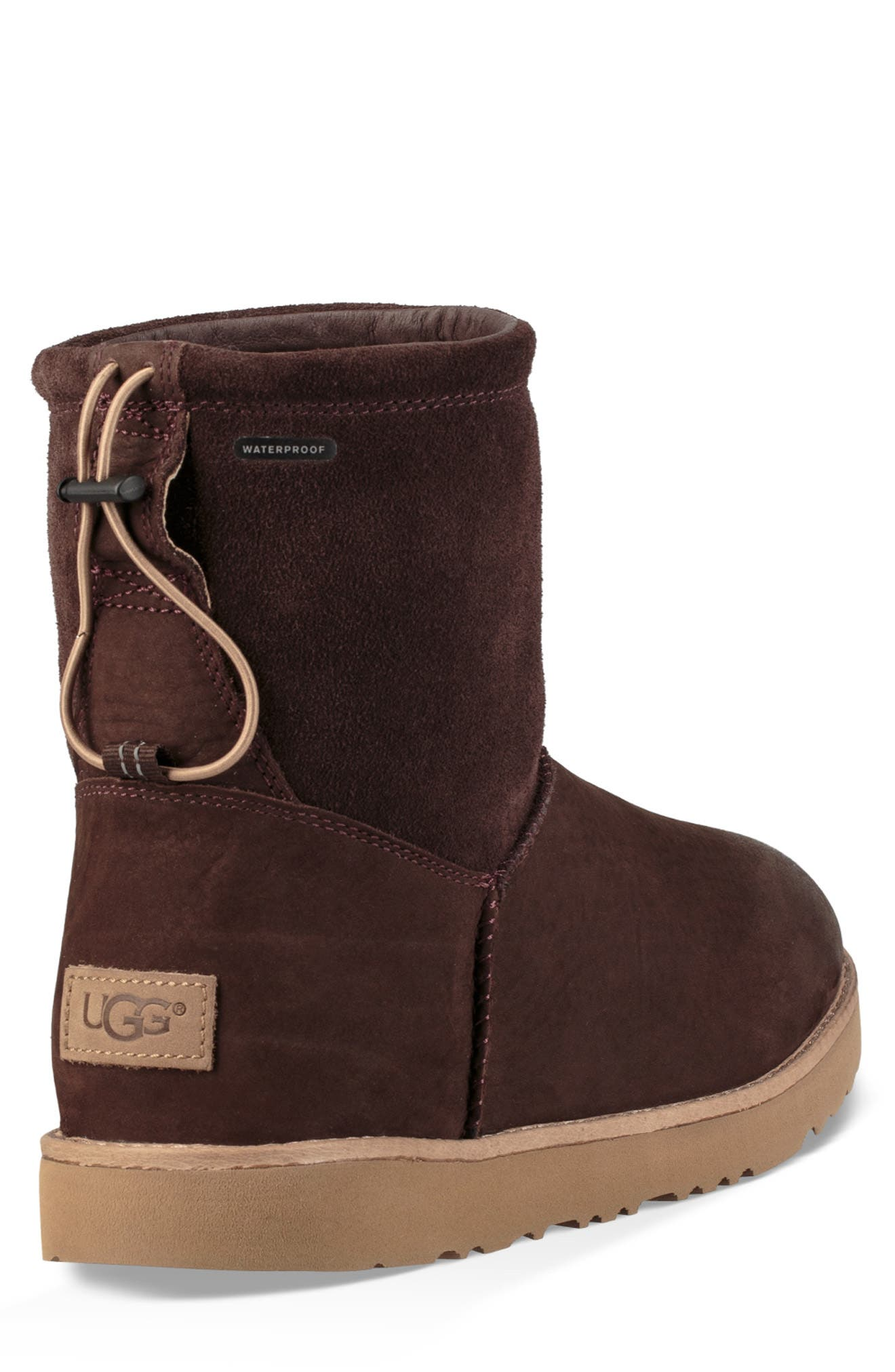 UGG<SUP>®</SUP>, Classic Waterproof Boot, Alternate thumbnail 2, color, STOUT