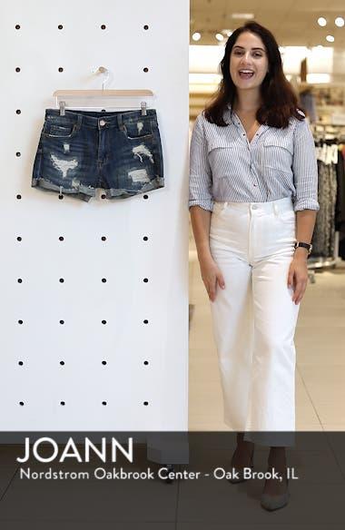 Boyfriend Denim Shorts, sales video thumbnail