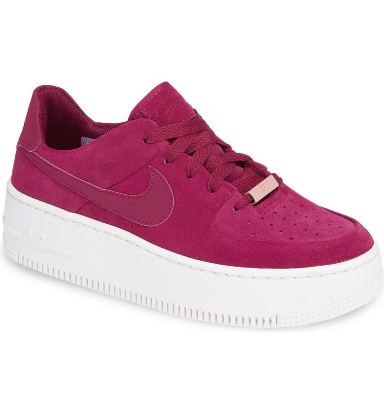df4a290c5613 Nike Air Force 1 Sage Low Platform Sneaker (Women)