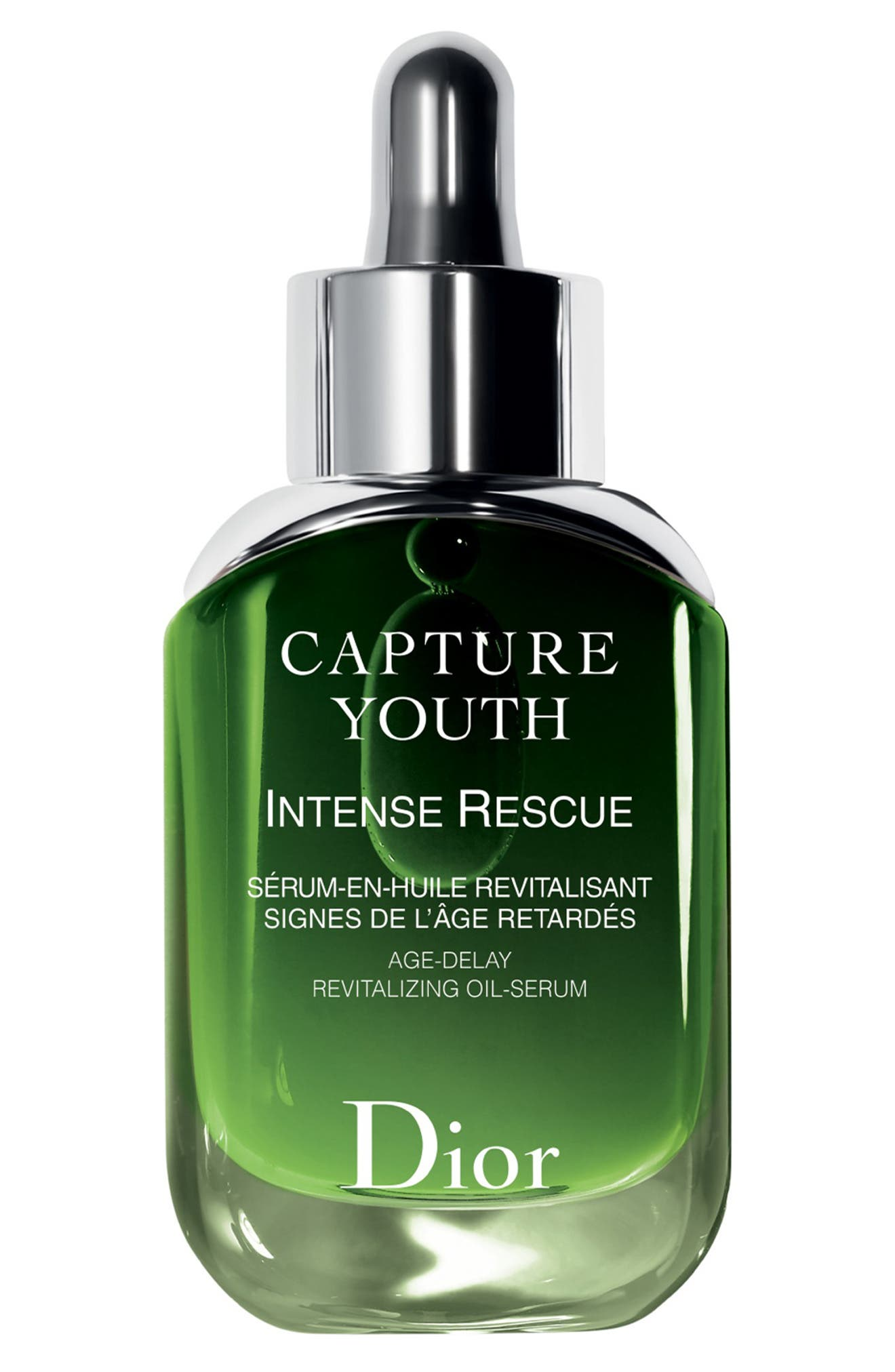 DIOR, Capture Youth Intense Rescue Age-Delay Revitalizing Oil-Serum, Main thumbnail 1, color, NO COLOR