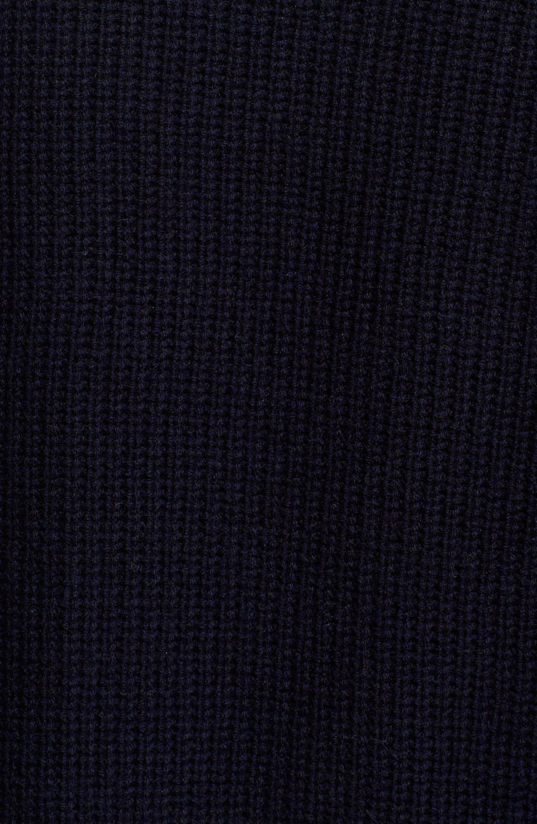VINCE, Directional Rib Wool & Cashmere Cardigan, Alternate thumbnail 2, color, 403