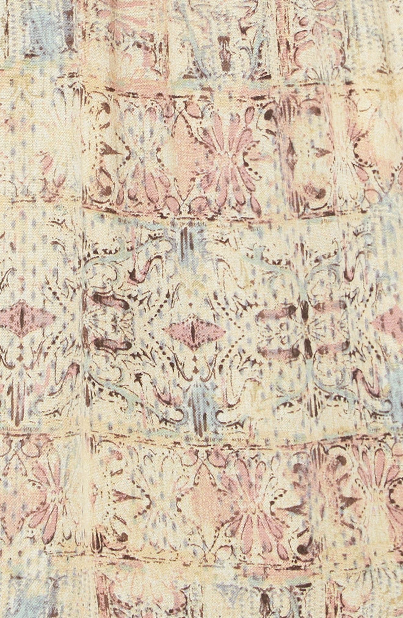 O'NEILL, Lithia Peplum High/Low Dress, Alternate thumbnail 5, color, 994