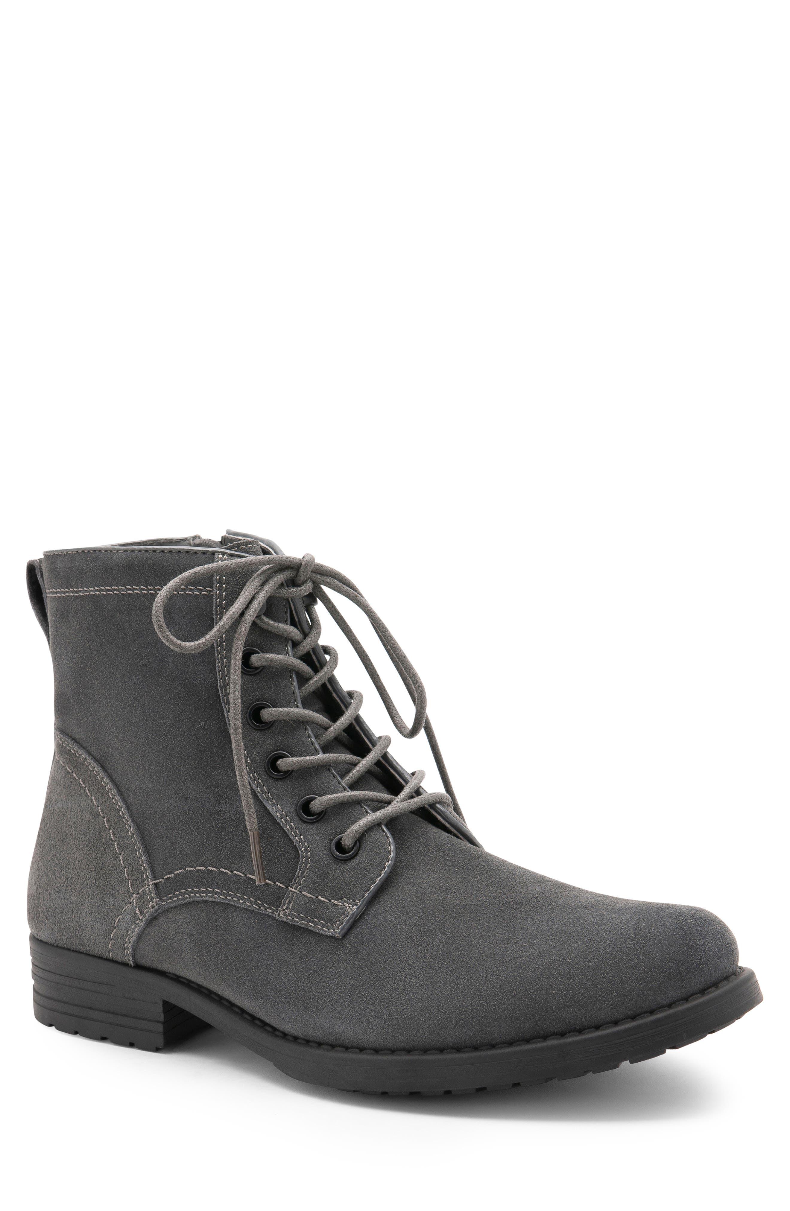 Blondo Peter Waterproof Plain Toe Boot, Grey