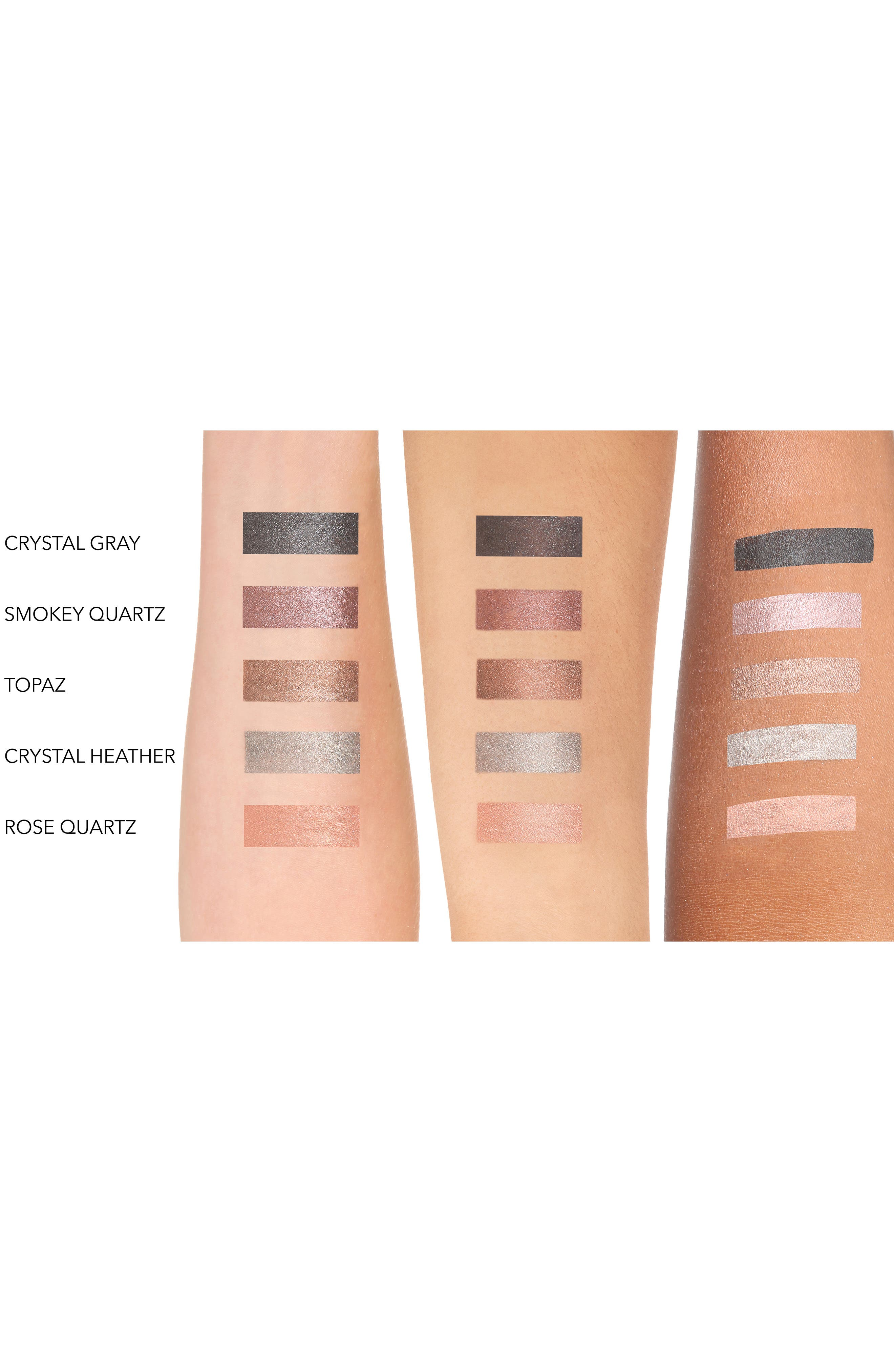 TRISH MCEVOY, 24-Hour Eyeshadow & Eyeliner, Alternate thumbnail 4, color, CRYSTAL GREY