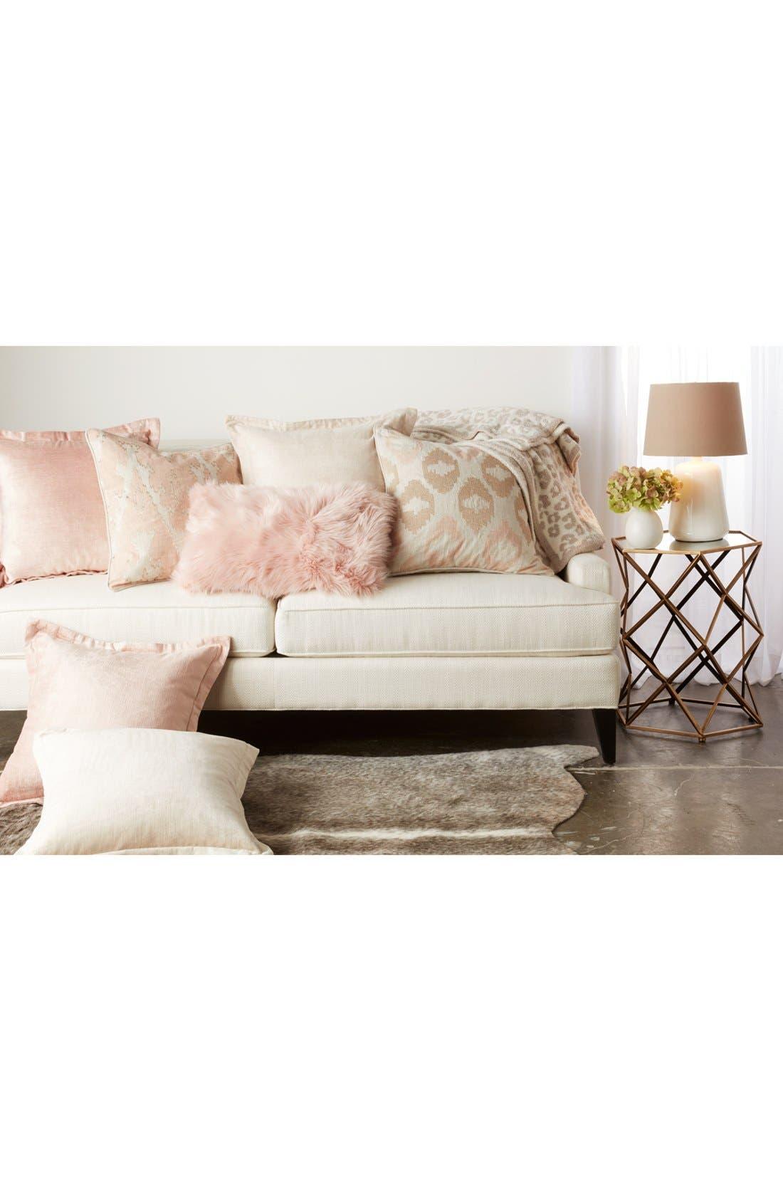 MINA VICTORY 'Sumptuous' Faux Fur Accent Pillow, Main, color, 250