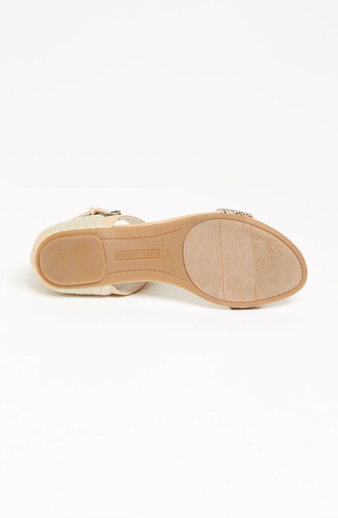 ENZO ANGIOLINI, 'Katira' Sandal, Alternate thumbnail 4, color, 250