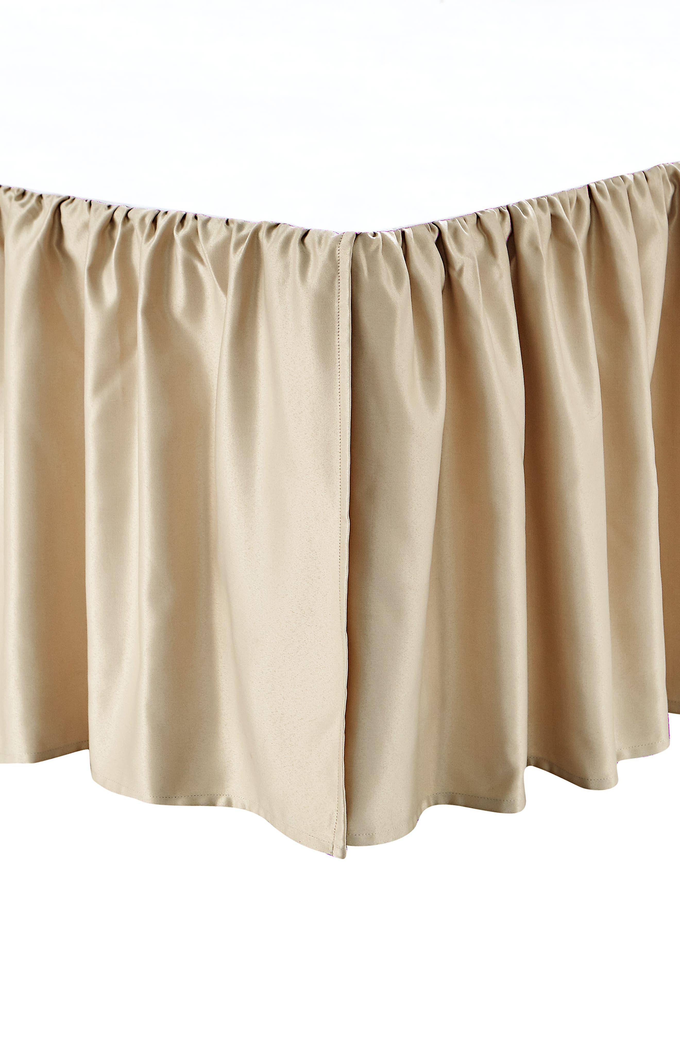 WATERFORD, Anora Comforter, Sham & Bed Skirt Set, Alternate thumbnail 4, color, BRASS/ JADE
