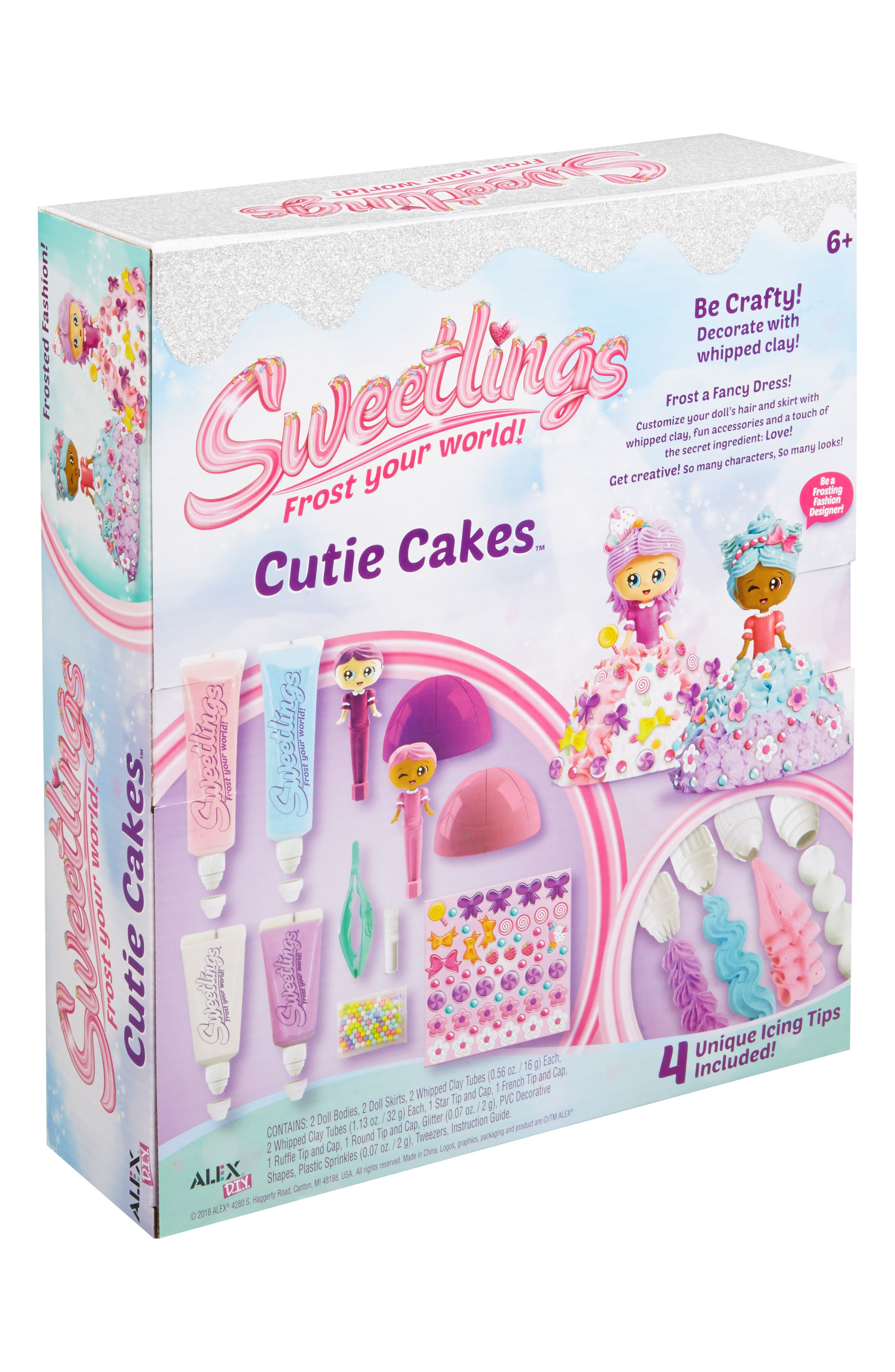 ALEX<SUP>®</SUP> TOYS, DIY Sweetlings Cutie Cakes, Alternate thumbnail 4, color, 960