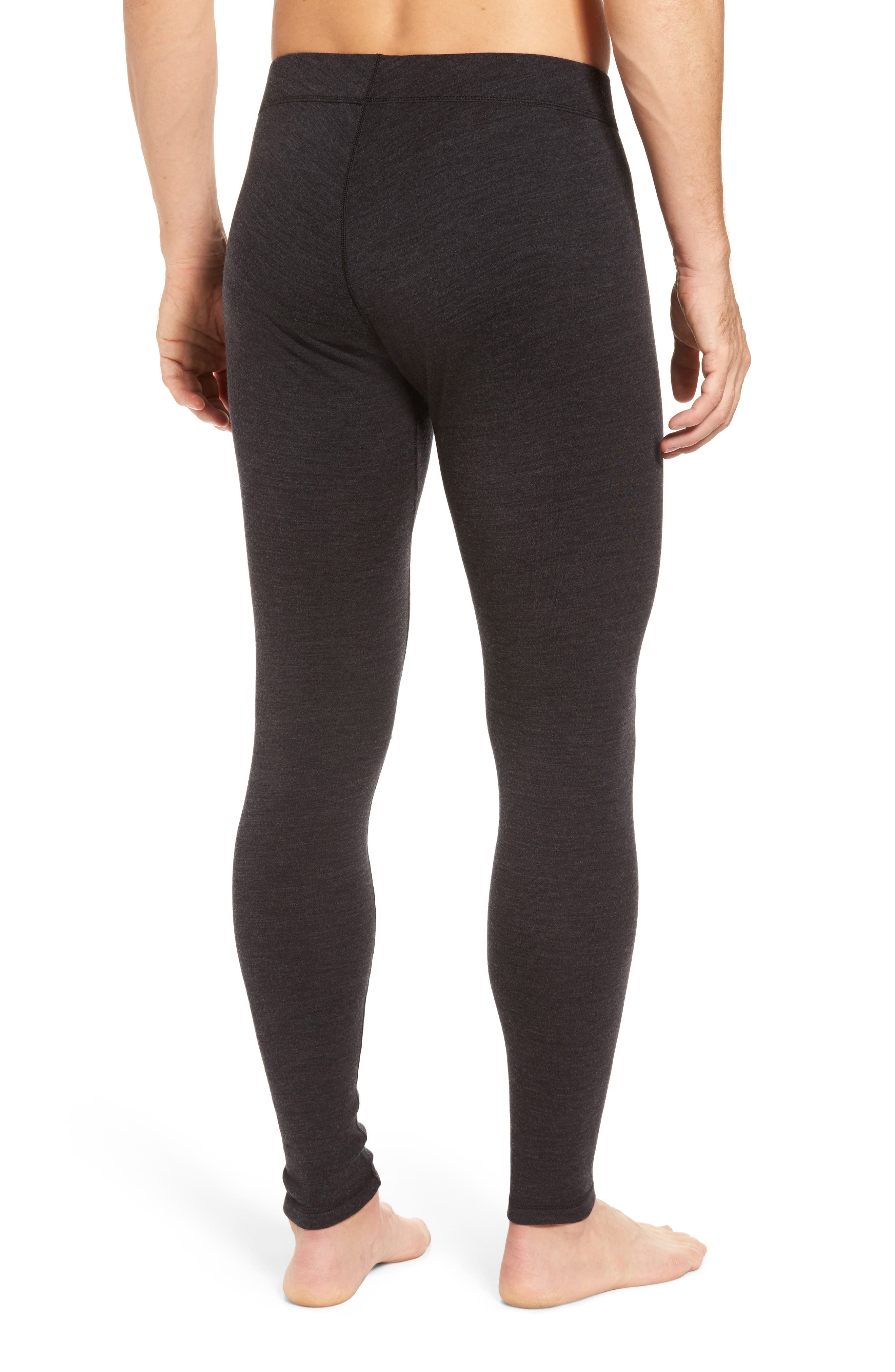 SMARTWOOL, Merino 250 Base Layer Bottoms, Alternate thumbnail 2, color, CHARCOAL HEATHER