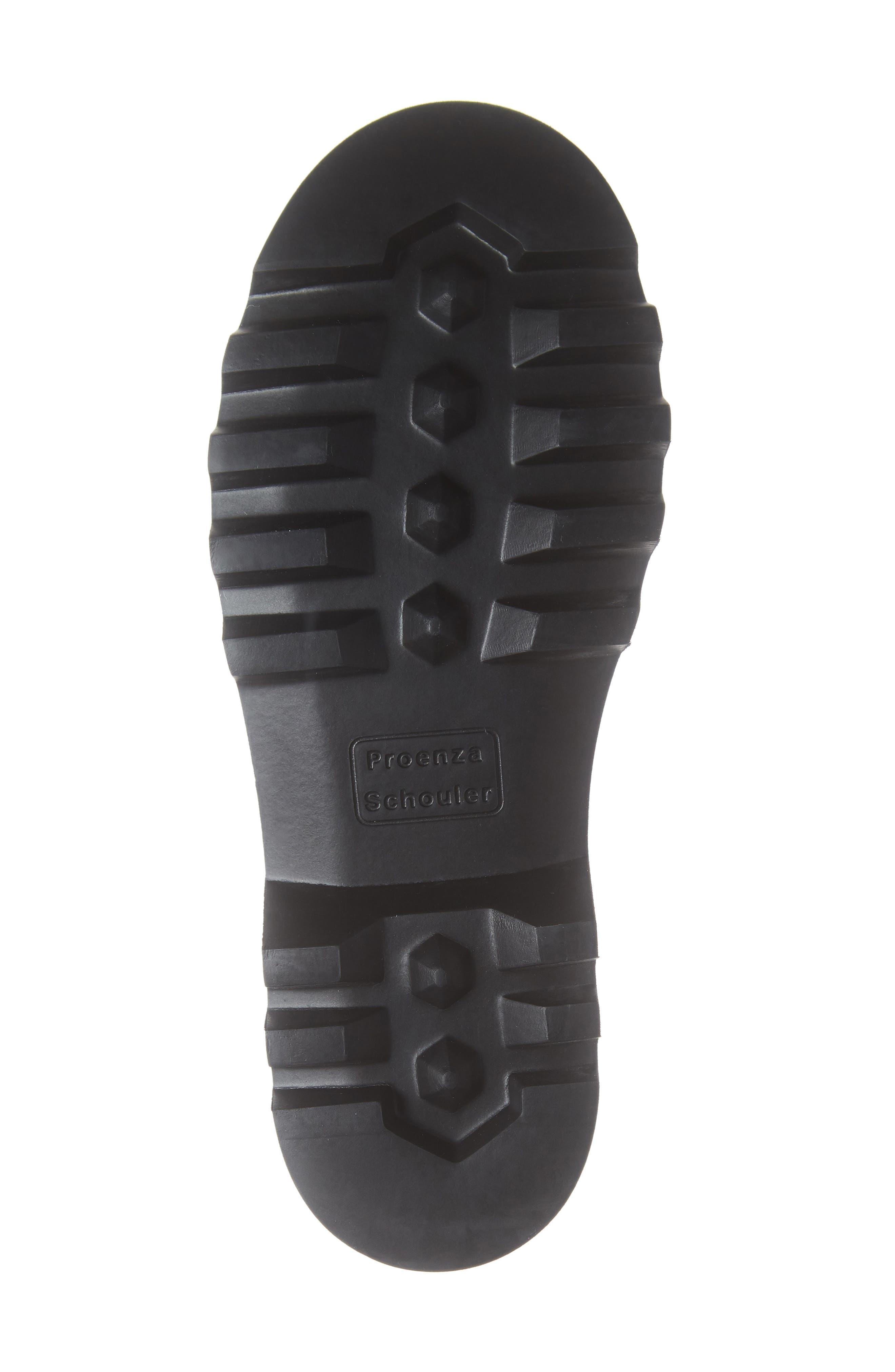 PROENZA SCHOULER, Hiker Boot, Alternate thumbnail 6, color, ECRU/ BLACK