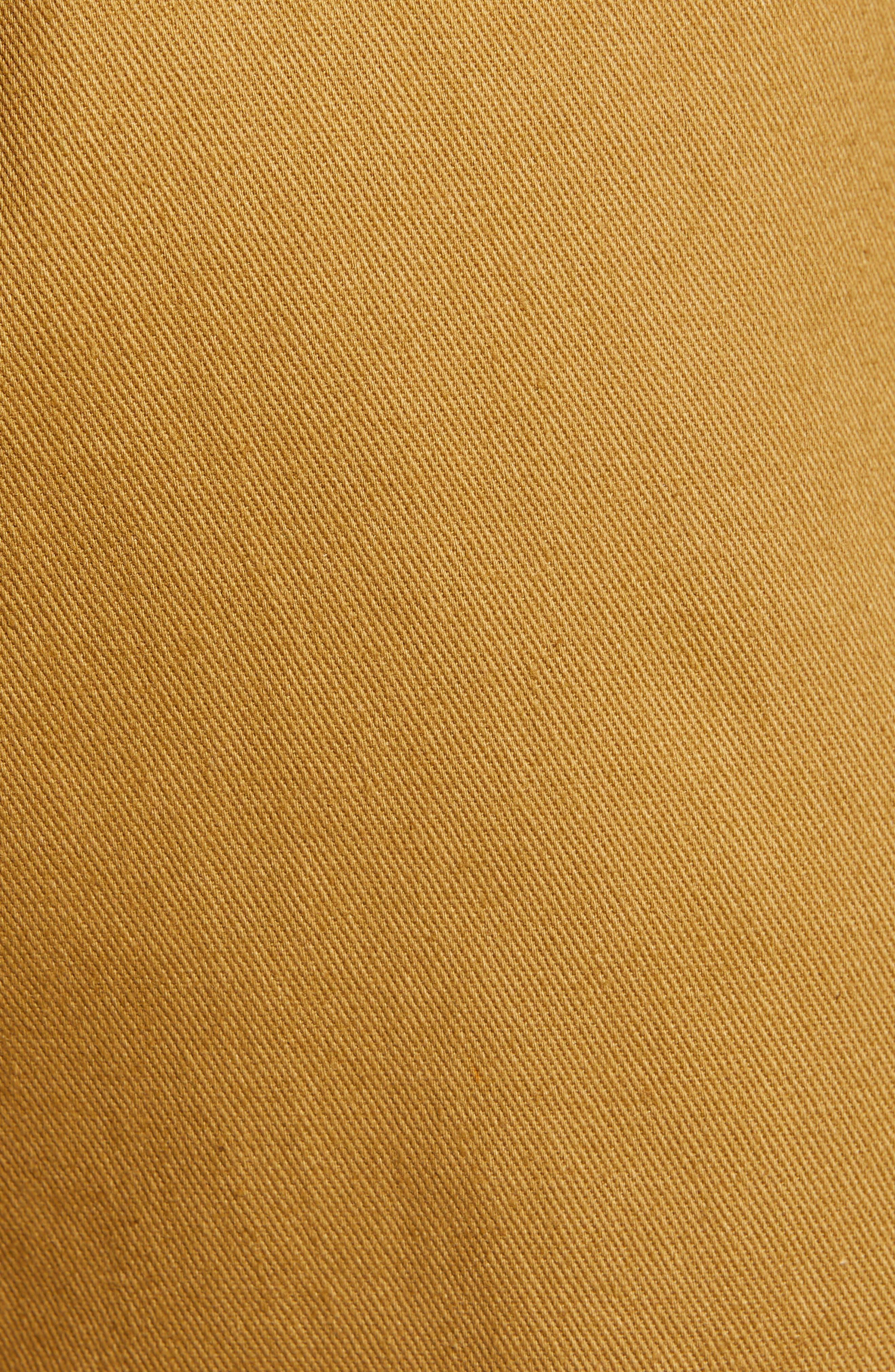 ALL IN FAVOR, Paperbag Waist Shorts, Alternate thumbnail 6, color, CAMEL