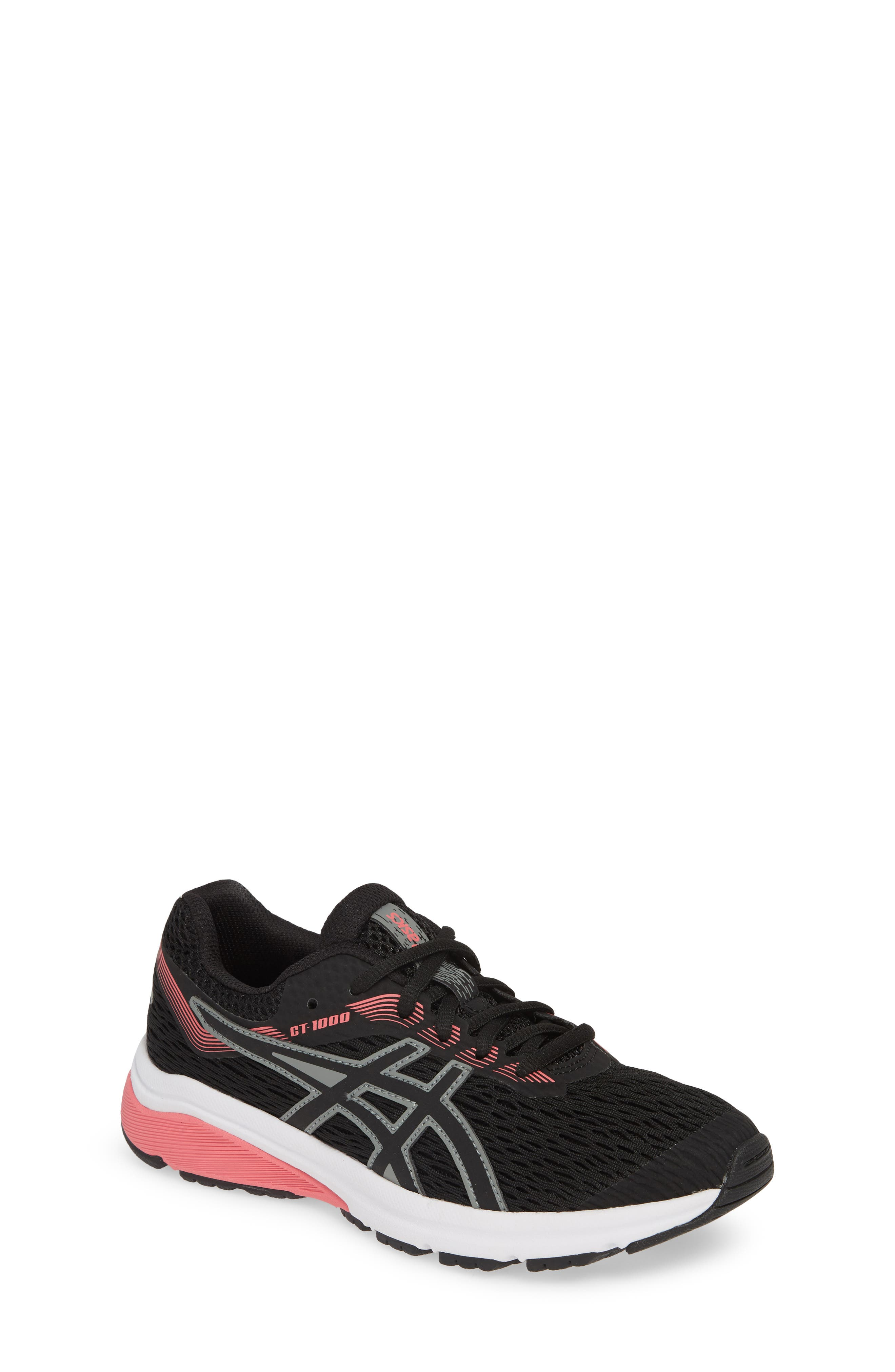 ASICS<SUP>®</SUP> GT 1000 7 Running Shoe, Main, color, BLACK/ BLACK