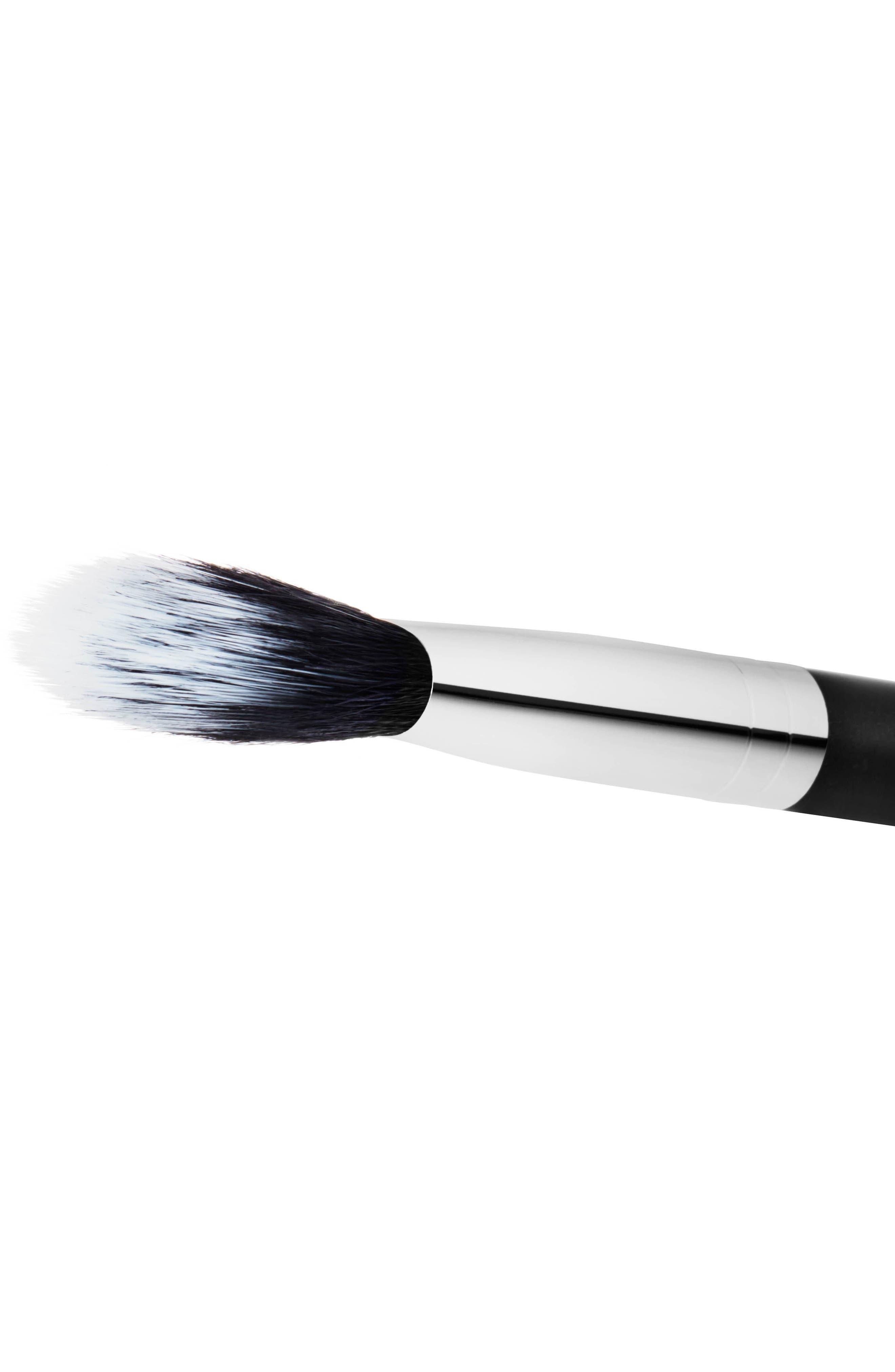 MAC COSMETICS, MAC 159S Synthetic Duo Fibre Brush, Alternate thumbnail 2, color, NO COLOR
