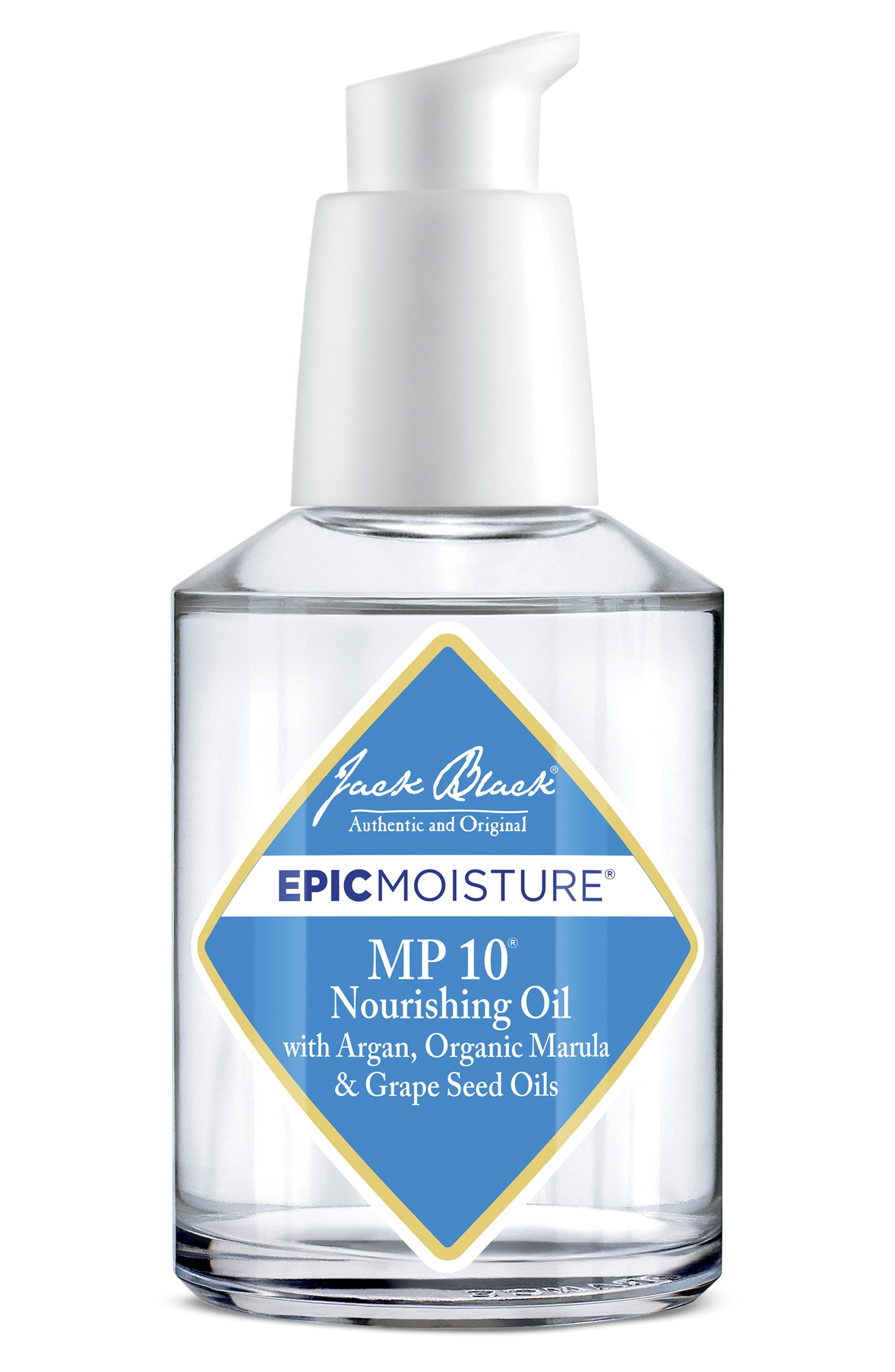 JACK BLACK, Epic Moisture<sup>™</sup> MP 10<sup>™</sup> Nourishing Oil, Alternate thumbnail 2, color, NO COLOR