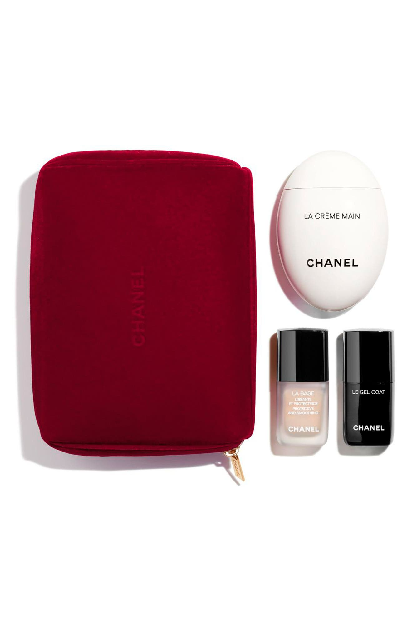 CHANEL, PERFECTLY POLISHED MANICURE Essentials Set, Main thumbnail 1, color, NO COLOR