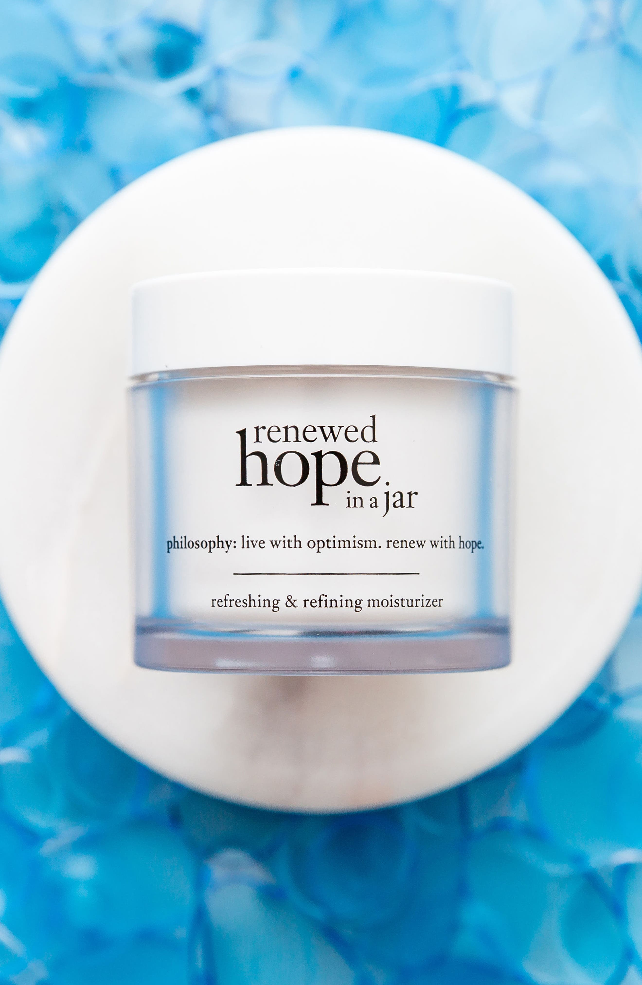 PHILOSOPHY, renewed hope in a jar refreshing & refining moisturizer, Alternate thumbnail 6, color, NO COLOR