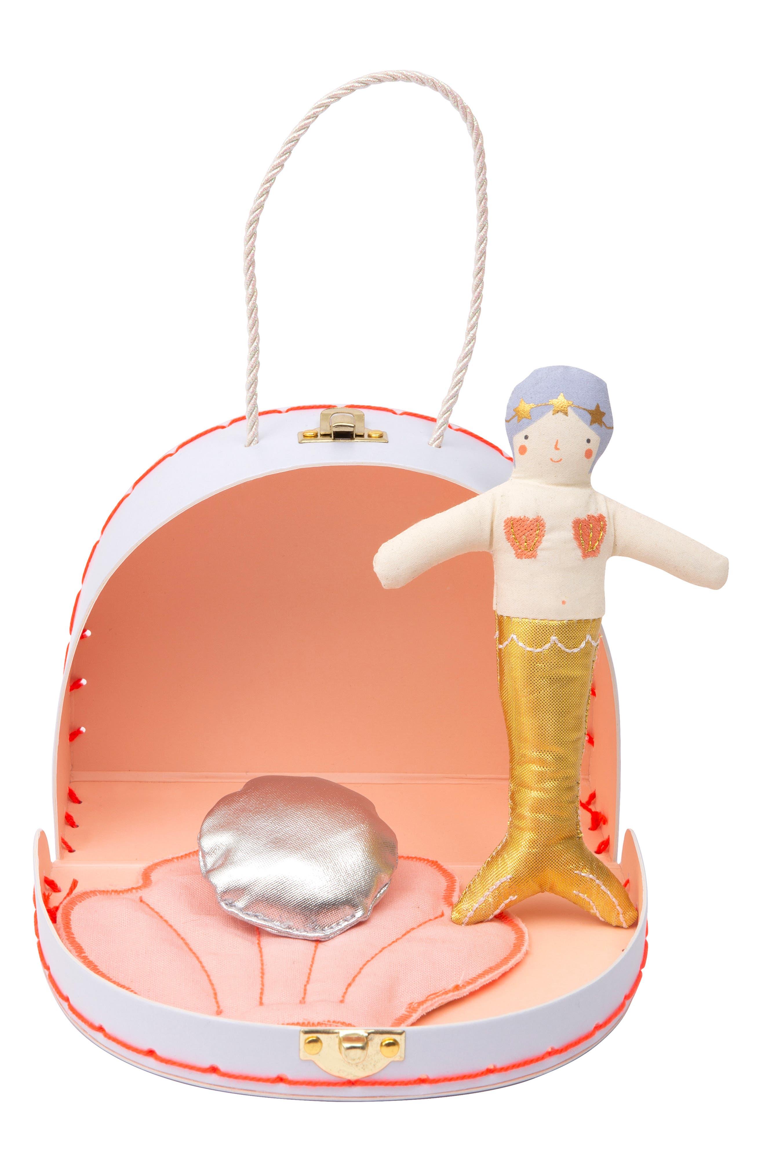 Girls Meri Meri Mini Sophia Doll  Suitcase Set