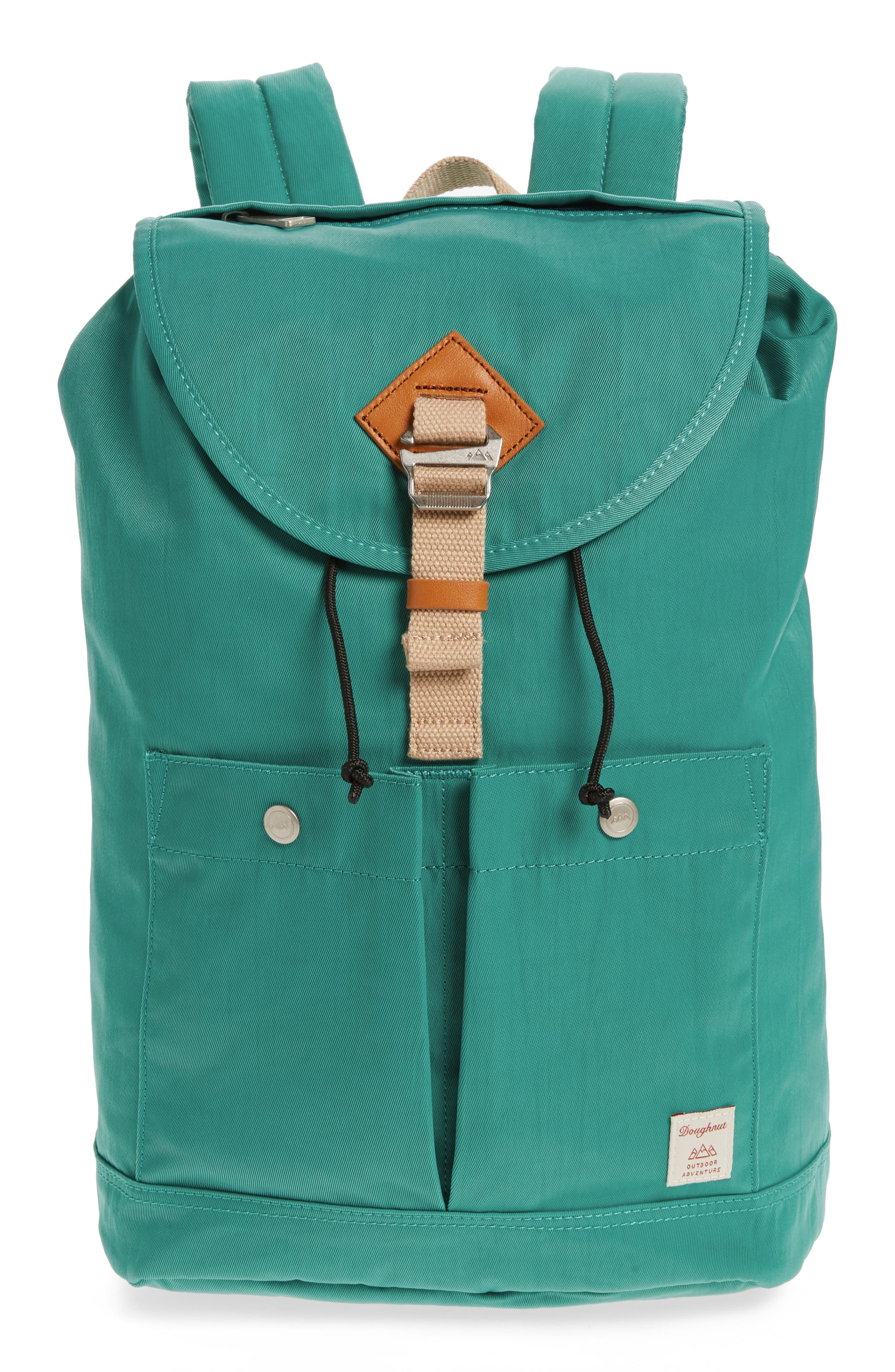 DOUGHNUT Montana Water Repellent Backpack, Main, color, MINT
