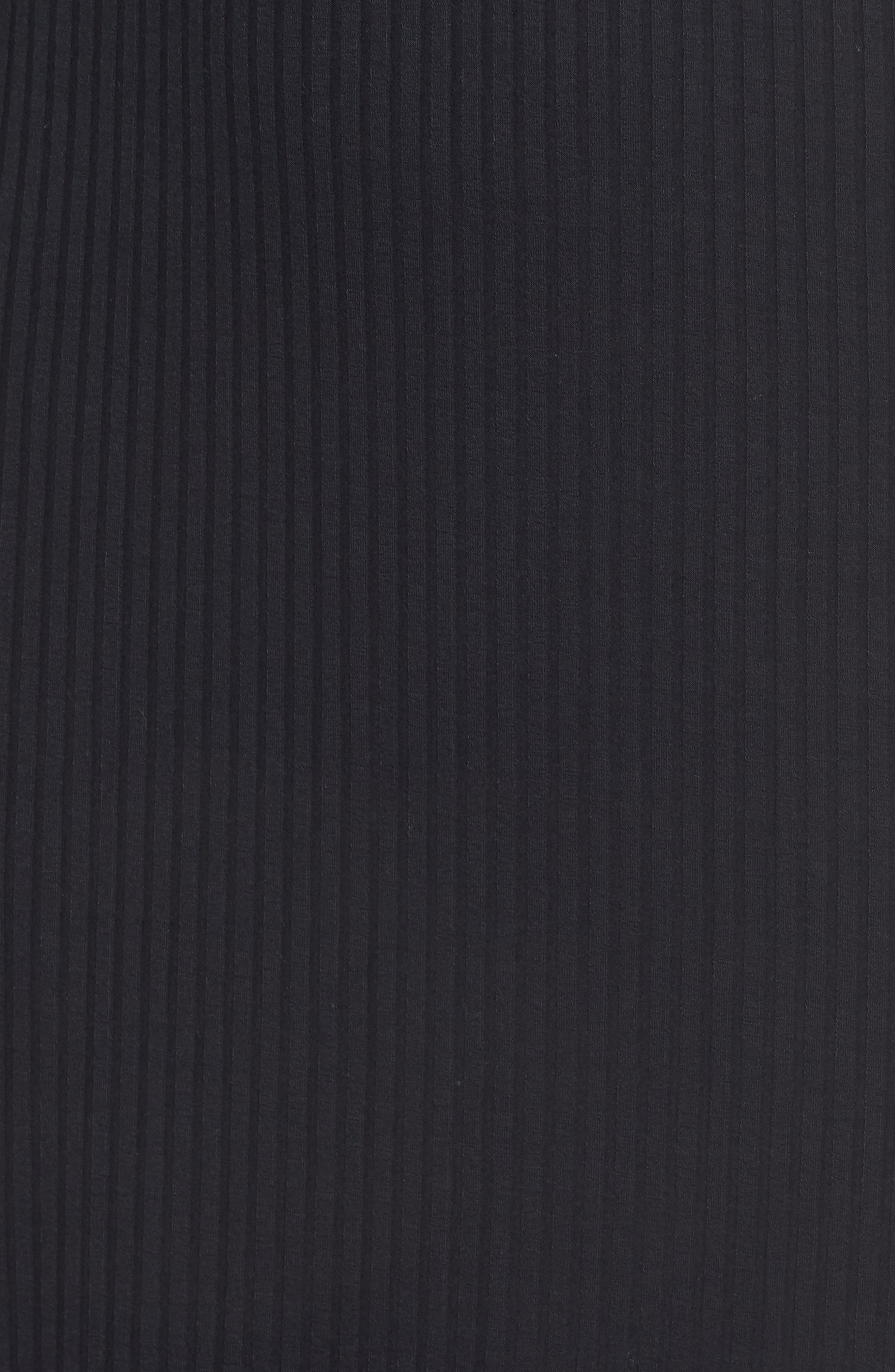 1901, Stripe Trim Sweater Dress, Alternate thumbnail 6, color, 410