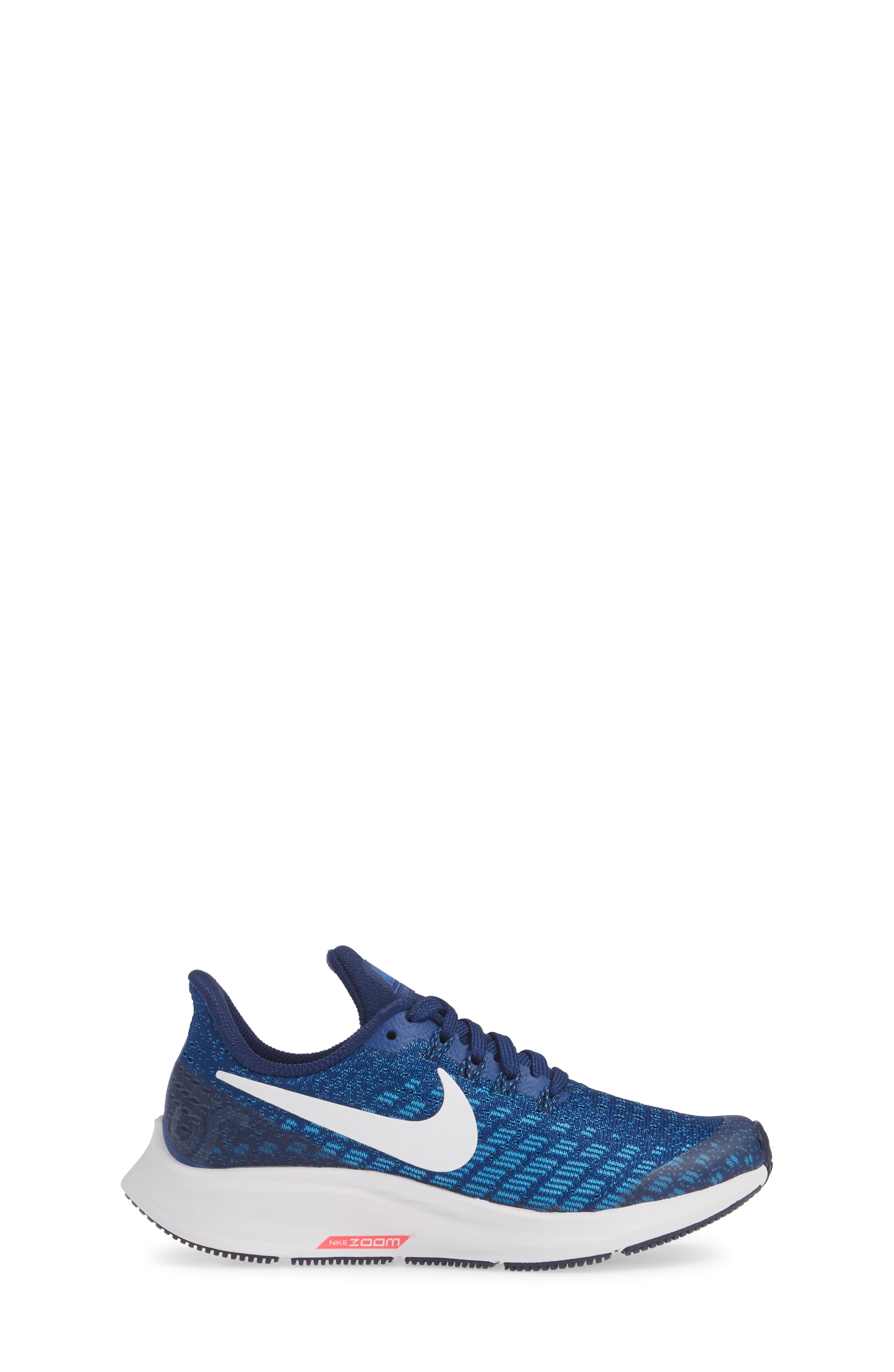 NIKE, Air Zoom Pegasus 35 Sneaker, Alternate thumbnail 3, color, INDIGO FORCE/ WHITE-BLUE-BLUE