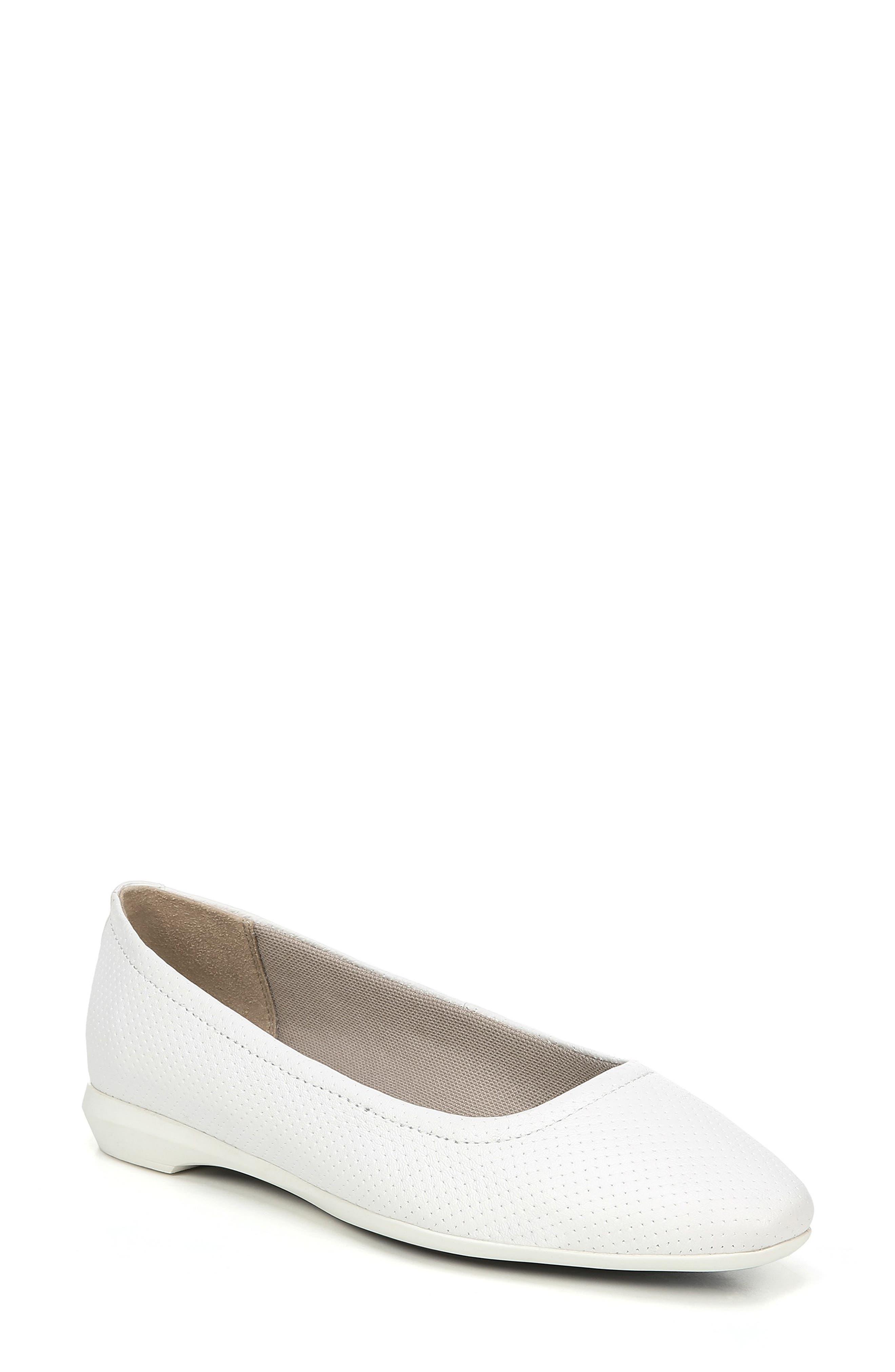 Naturalizer Alya Flat- White