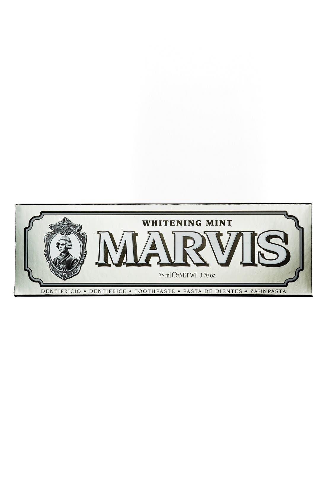 C.O. BIGELOW,  'Marvis' Whitening Mint Toothpaste, Alternate thumbnail 4, color, NO COLOR