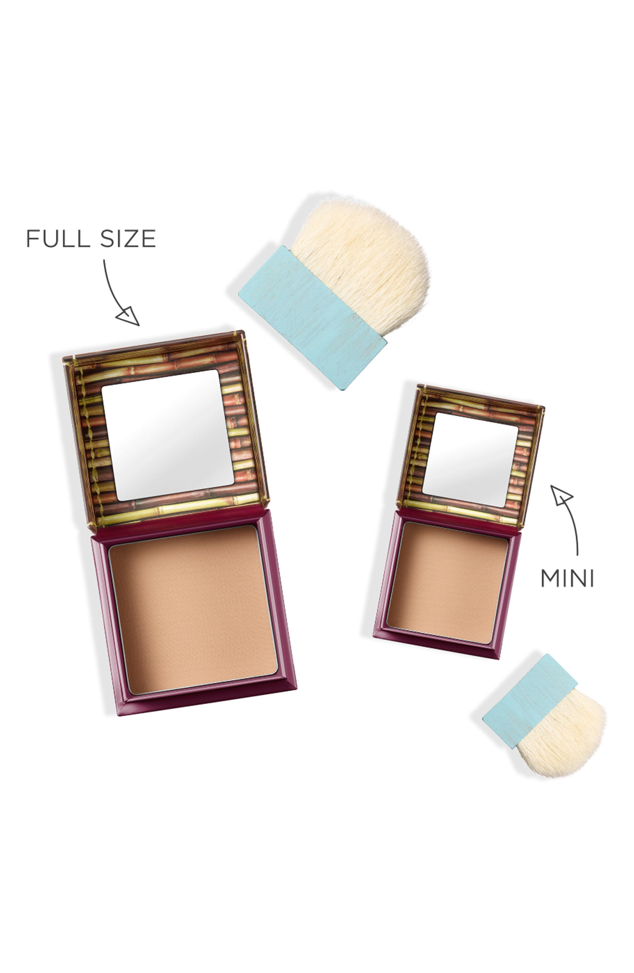 BENEFIT COSMETICS, Benefit Hoola Matte Bronzing Powder, Alternate thumbnail 7, color, HOOLA - MEDIUM
