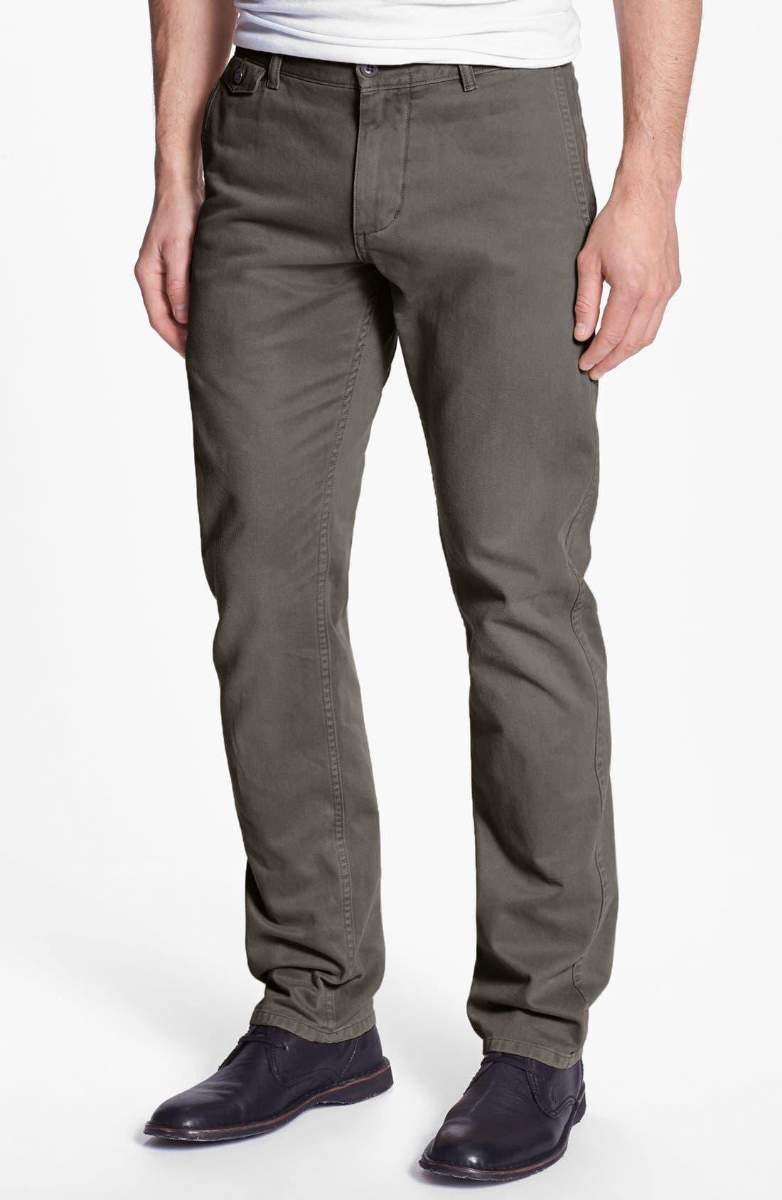 DOCKERS<SUP>®</SUP> 'Alpha Fogwash' Slim Tapered Leg Chinos, Main, color, 038