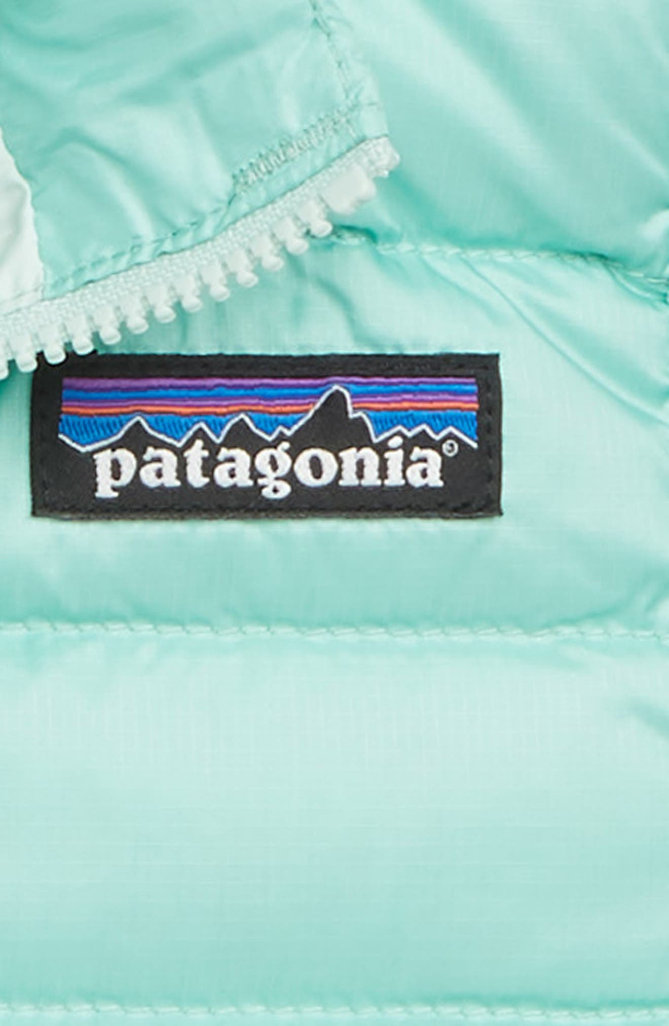 PATAGONIA, Water Repellent Down Sweater Vest, Alternate thumbnail 2, color, VJOSA GREEN