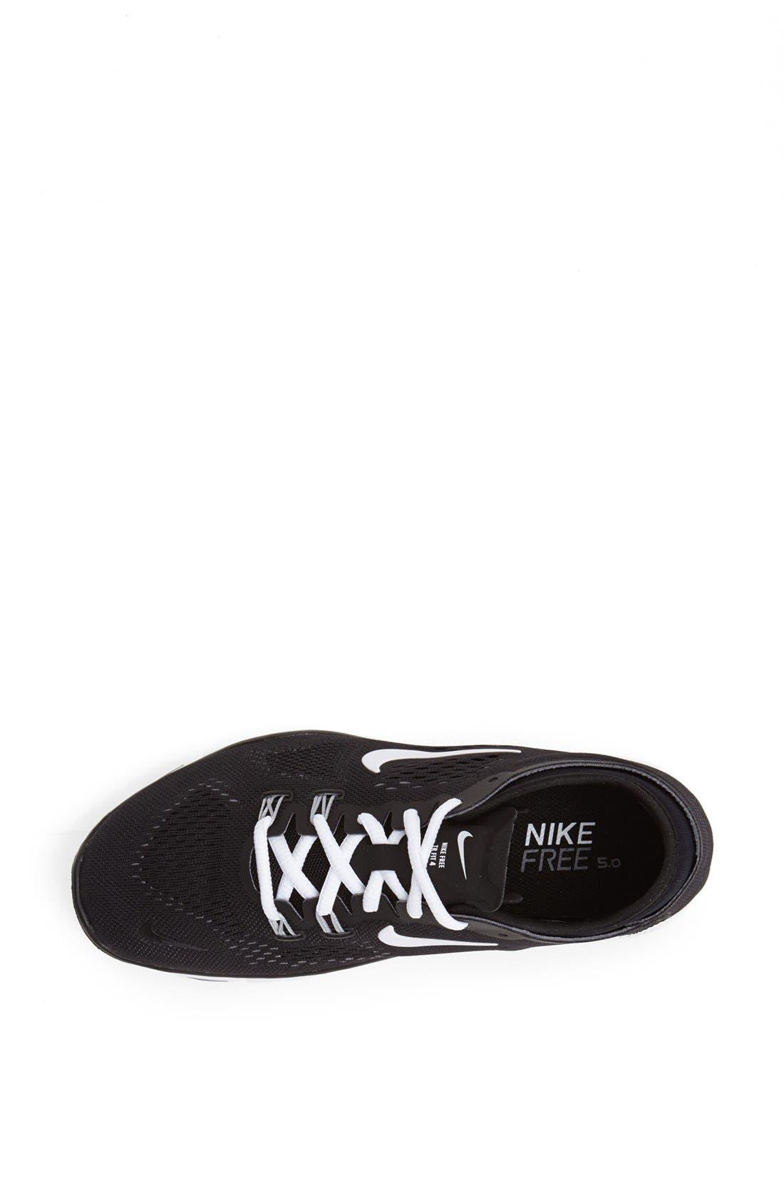 NIKE, 'Free 5.0 TR Fit 4' Training Shoe, Alternate thumbnail 2, color, 001