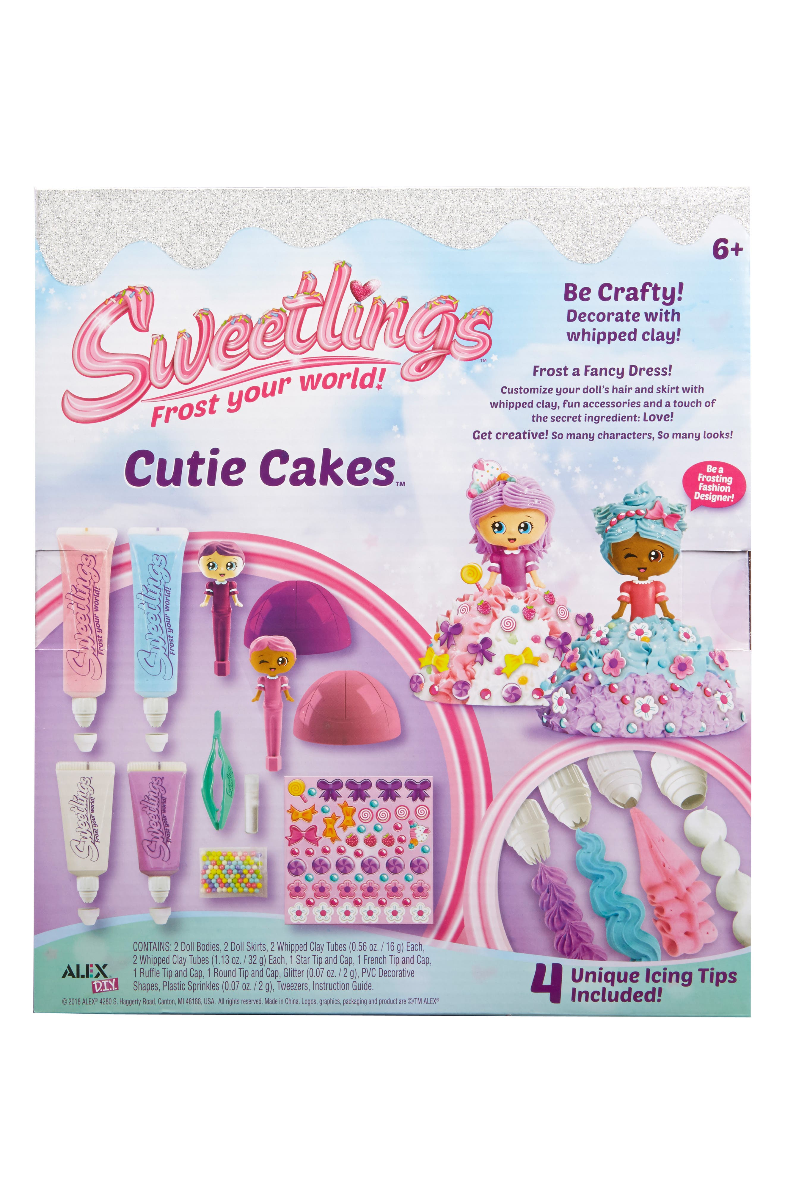 ALEX<SUP>®</SUP> TOYS, DIY Sweetlings Cutie Cakes, Alternate thumbnail 2, color, 960