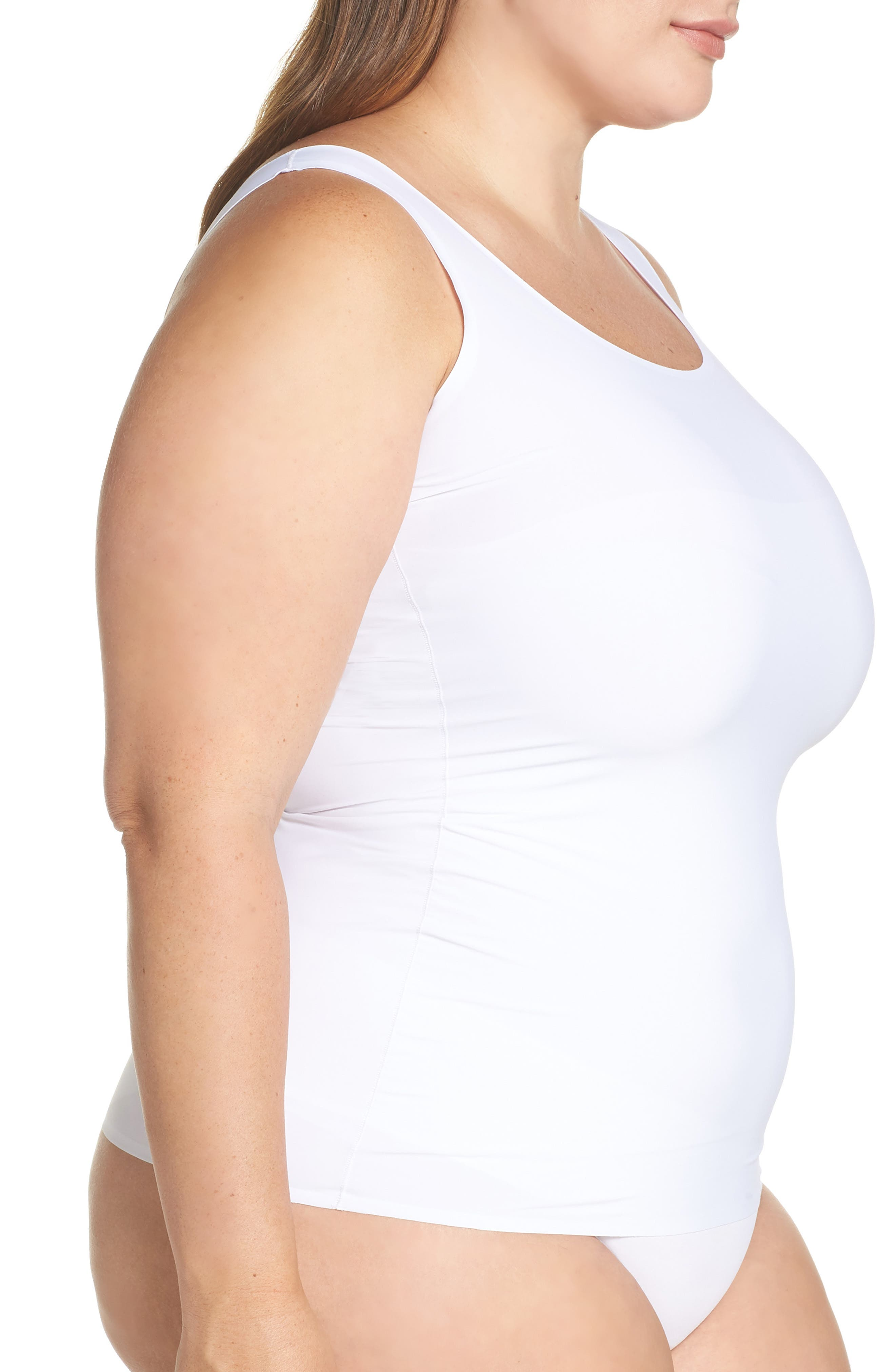 YUMMIE, 6-in-1 Shaping Tank, Alternate thumbnail 3, color, WHITE
