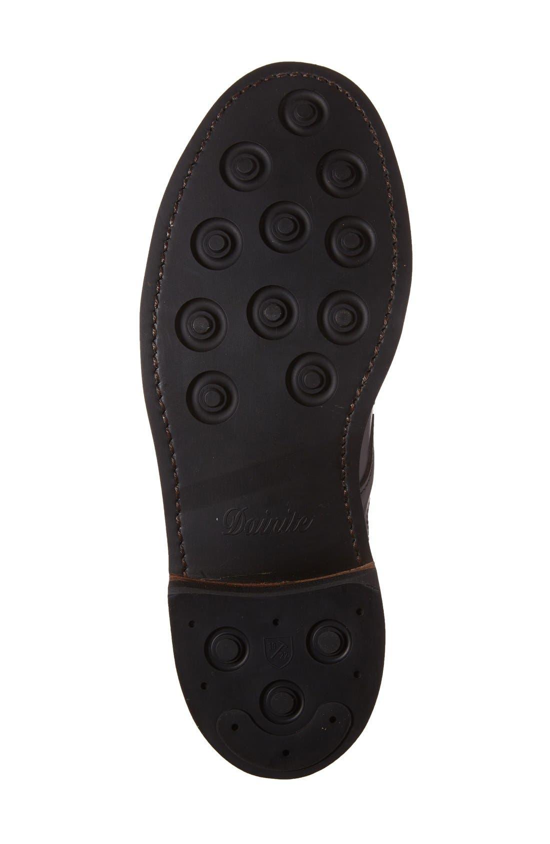 ALLEN EDMONDS, 'Higgins Mill' Plain Toe Boot, Alternate thumbnail 4, color, 001