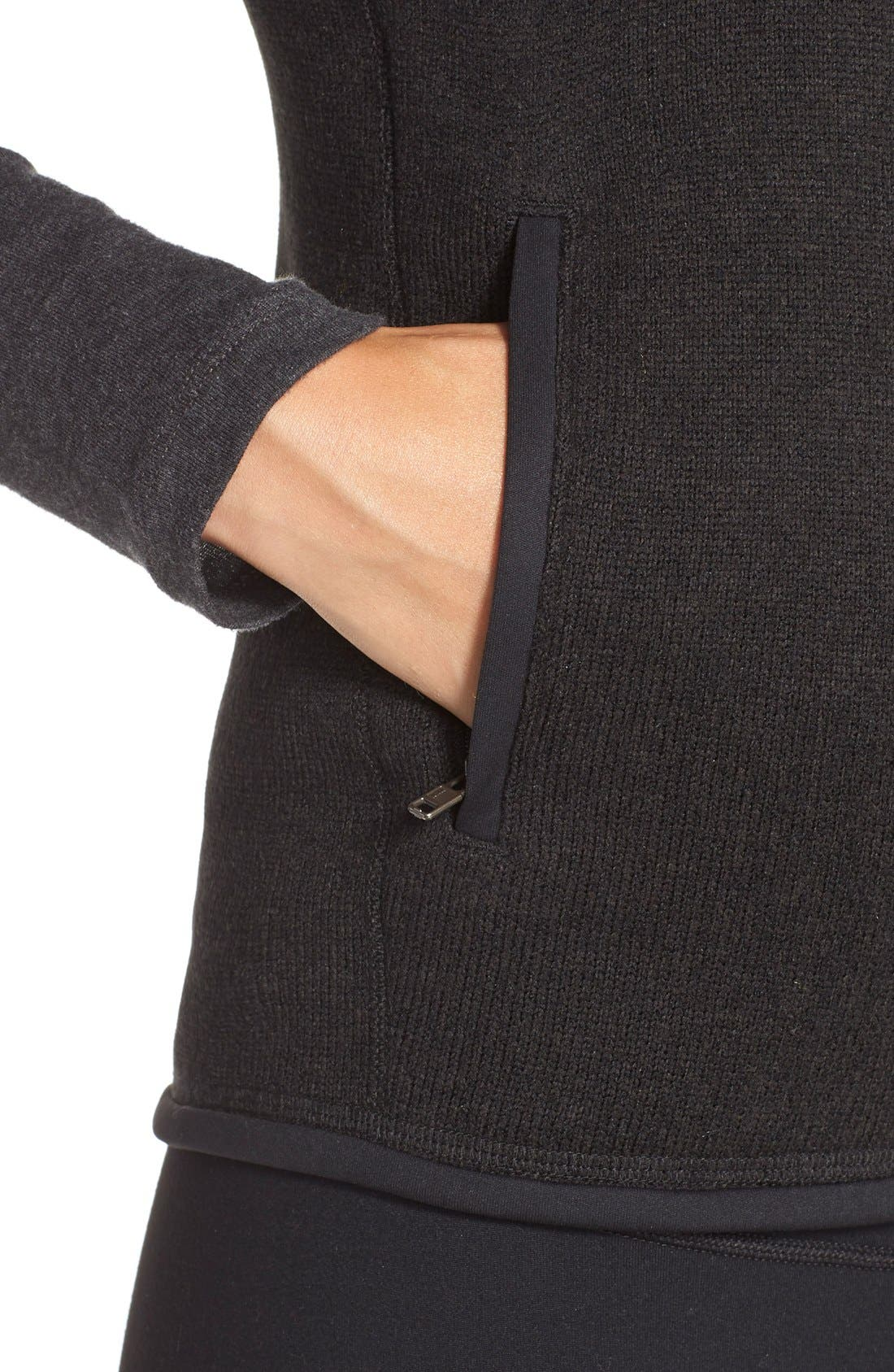 PATAGONIA, Better Sweater Vest, Alternate thumbnail 2, color, BLACK