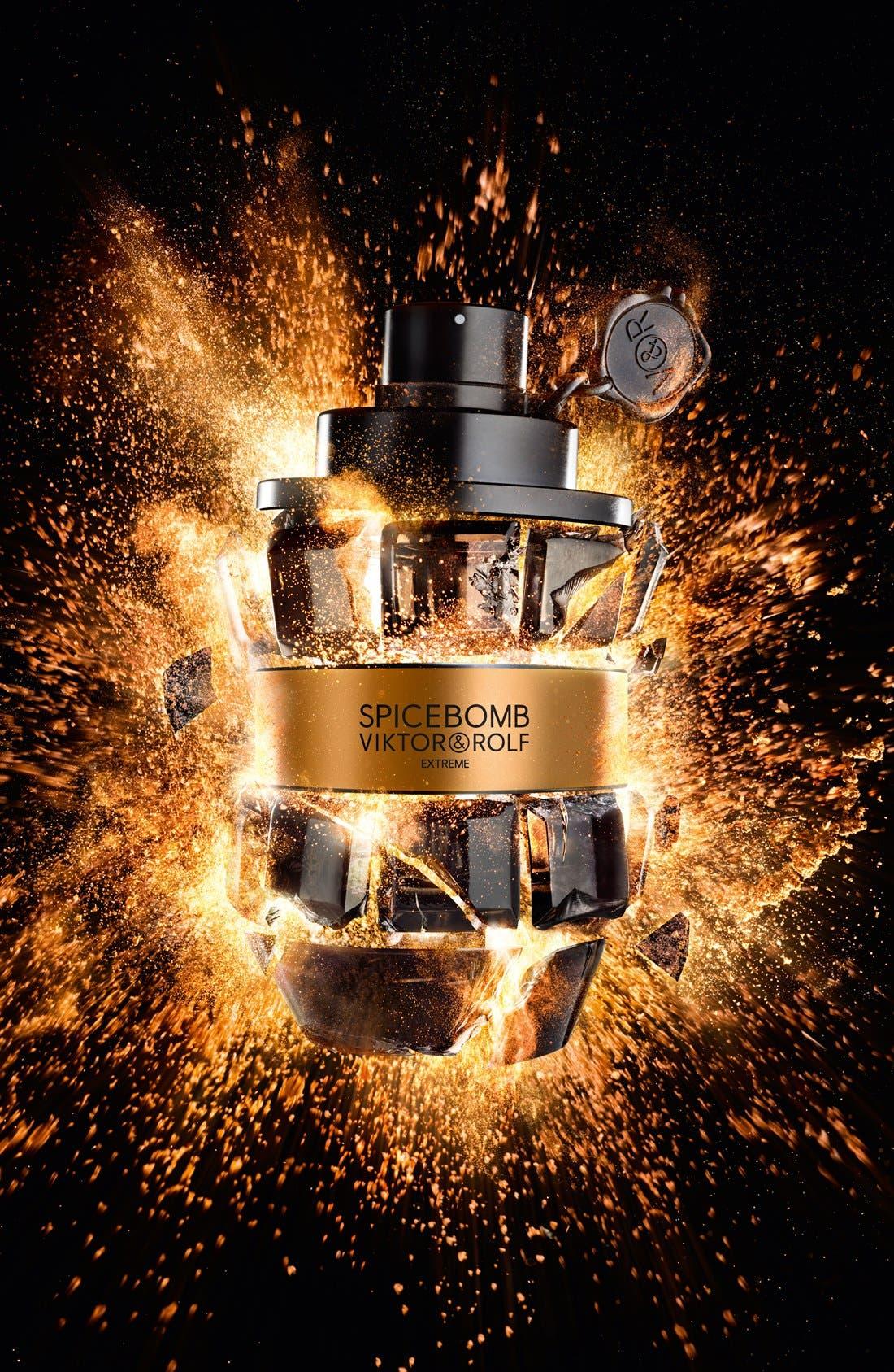 VIKTOR&ROLF, Spicebomb Extreme Eau de Parfum, Alternate thumbnail 4, color, NO COLOR