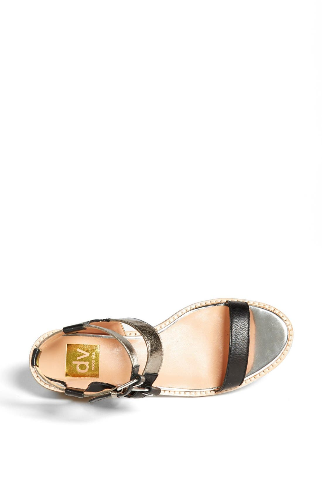 DV BY DOLCE VITA, 'Zinc' Sandal, Alternate thumbnail 3, color, 001