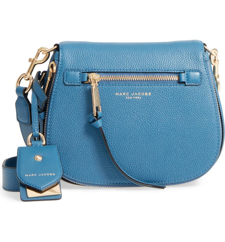 e8af15fc703f MARC JACOBS Small Recruit Nomad Pebbled Leather Crossbody Bag ...